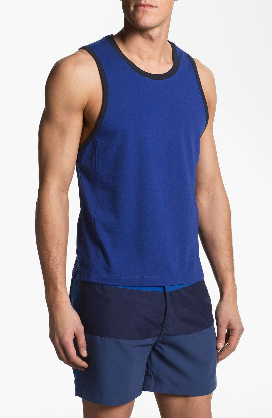Alternate Image 1 Selected - number:LAB Tank Top (Online Only)