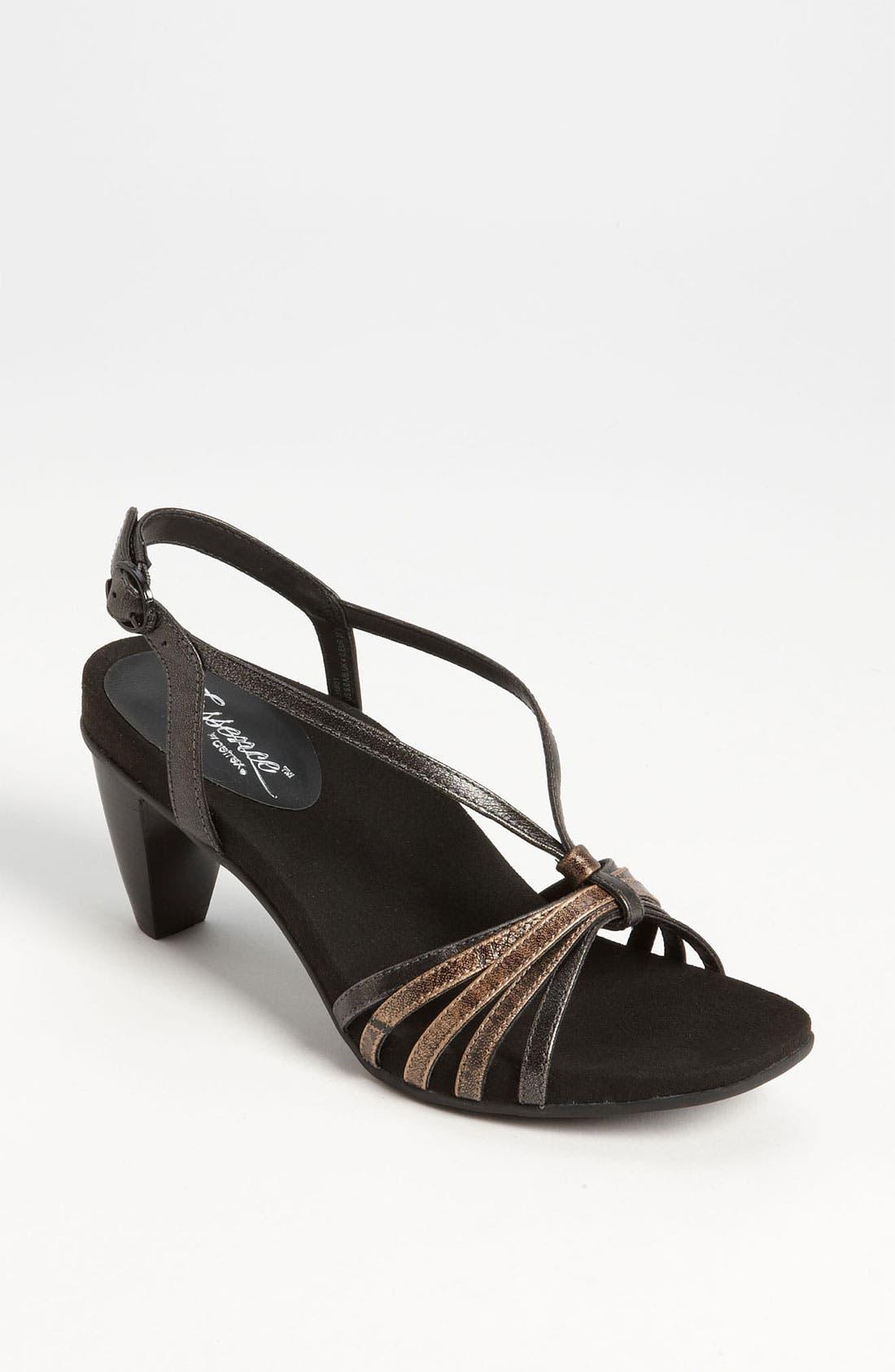 Main Image - Aetrex 'Angelina' Sandal