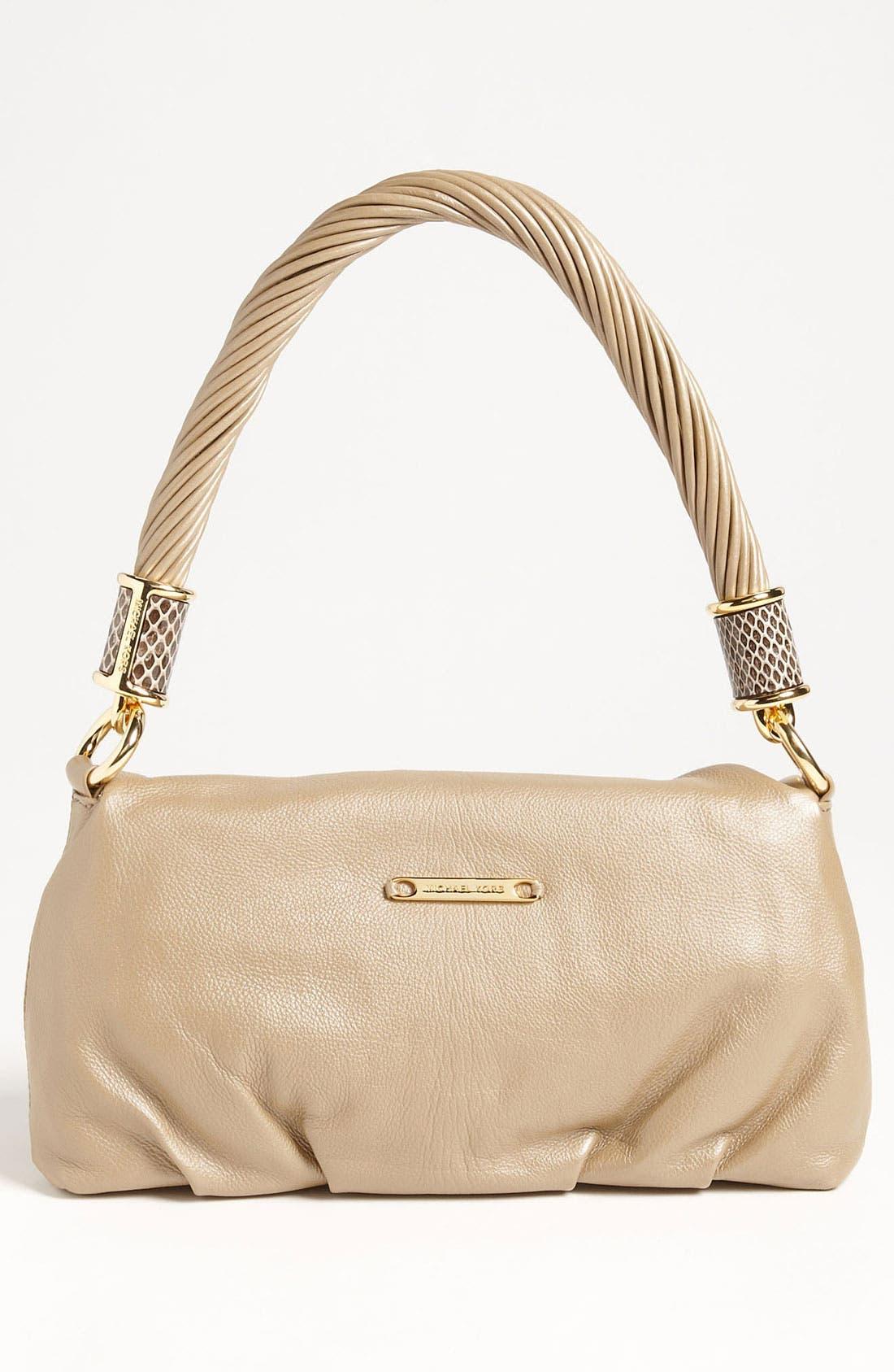 Alternate Image 4  - Michael Kors 'Tonne - Small' Calfskin Leather Shoulder Bag