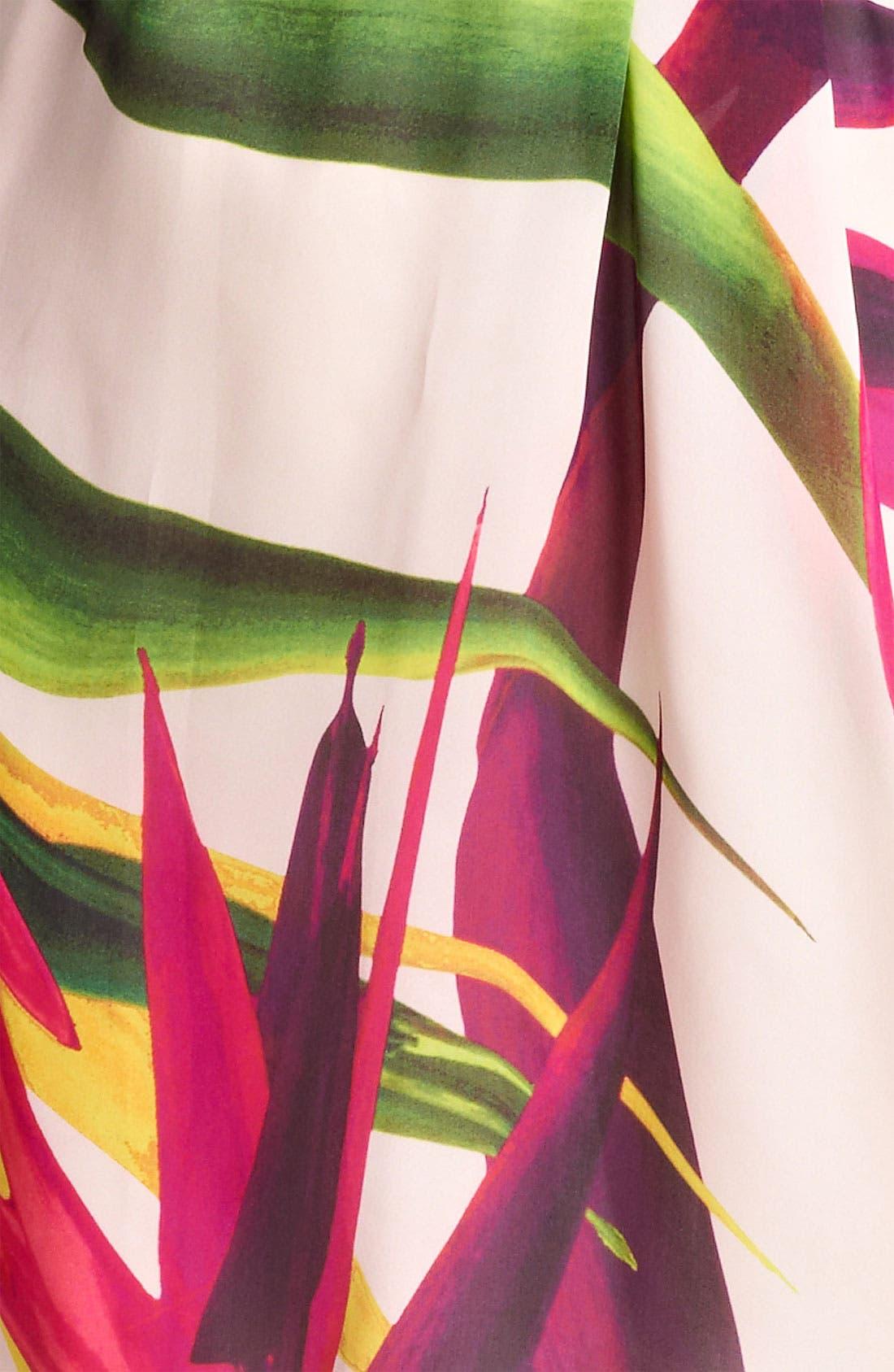 Alternate Image 3  - Max Mara 'Harry' Floral Print Silk Dress