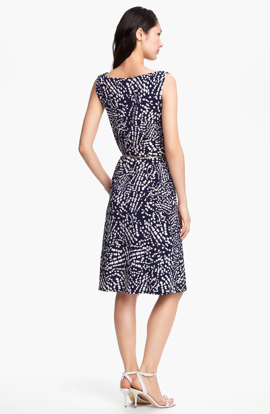 Alternate Image 2  - Anne Klein Abstract Dot Print Dress