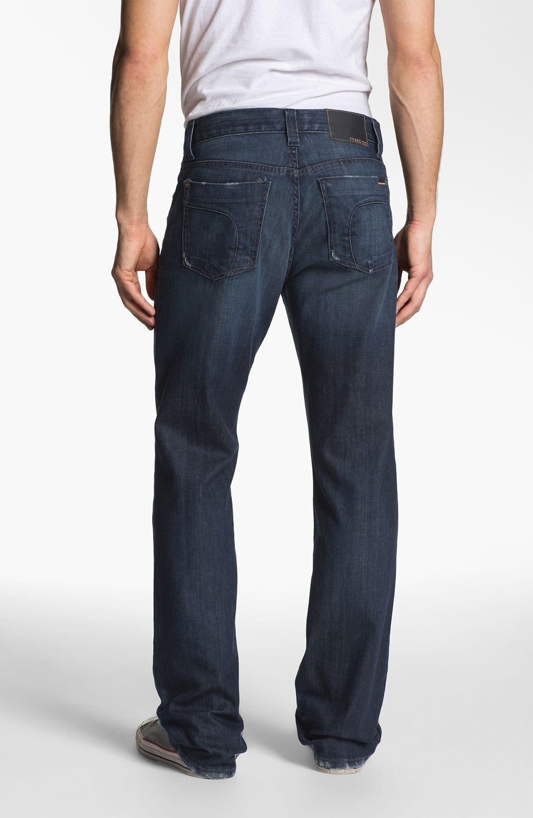 Alternate Image 2  - Fidelity Denim '5011' Straight Leg Jeans (Town Valley Wash)