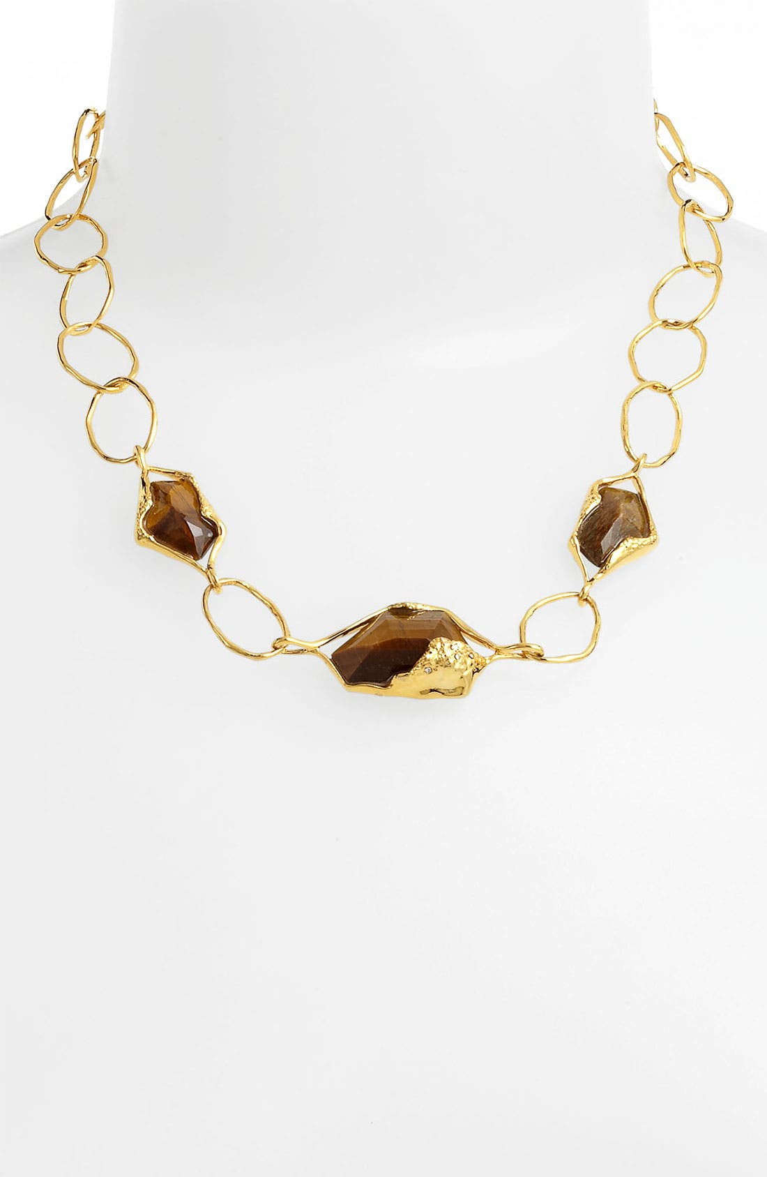 Alternate Image 1 Selected - Alexis Bittar 'Miss Havisham - Liquid Gold' Link Necklace