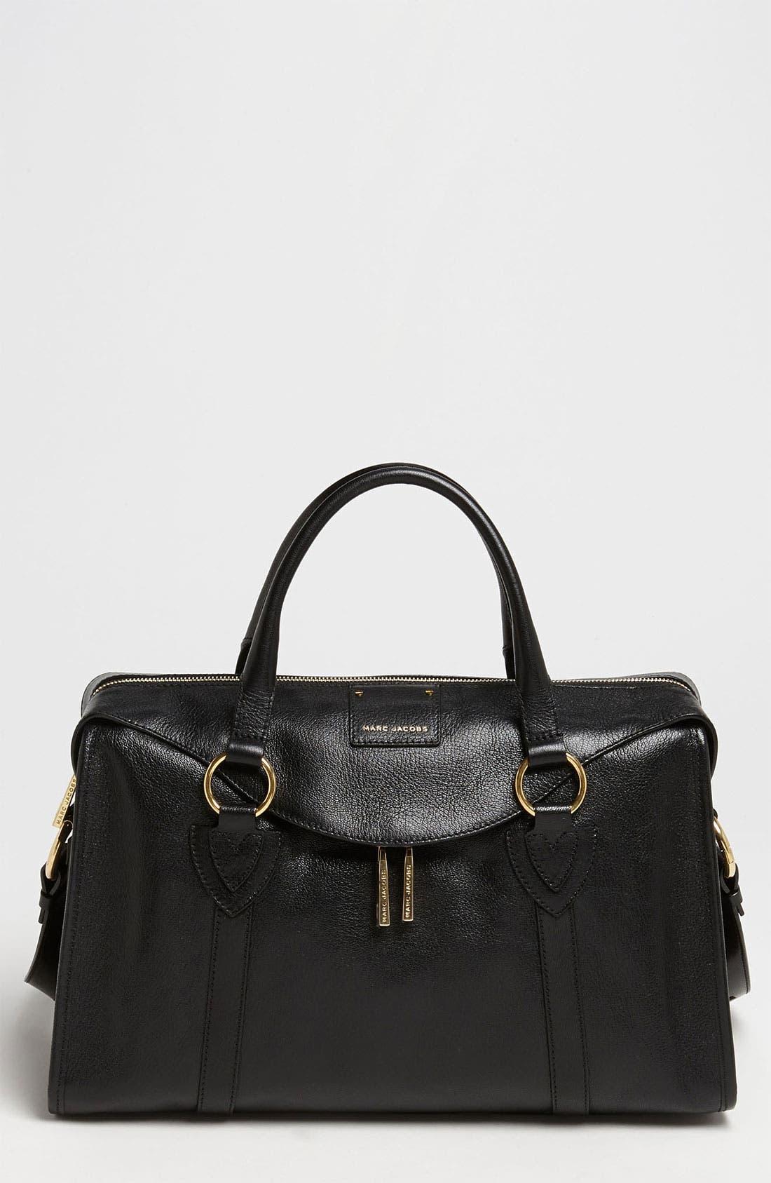 Main Image - MARC JACOBS 'Large Wellington Fulton' Leather Satchel