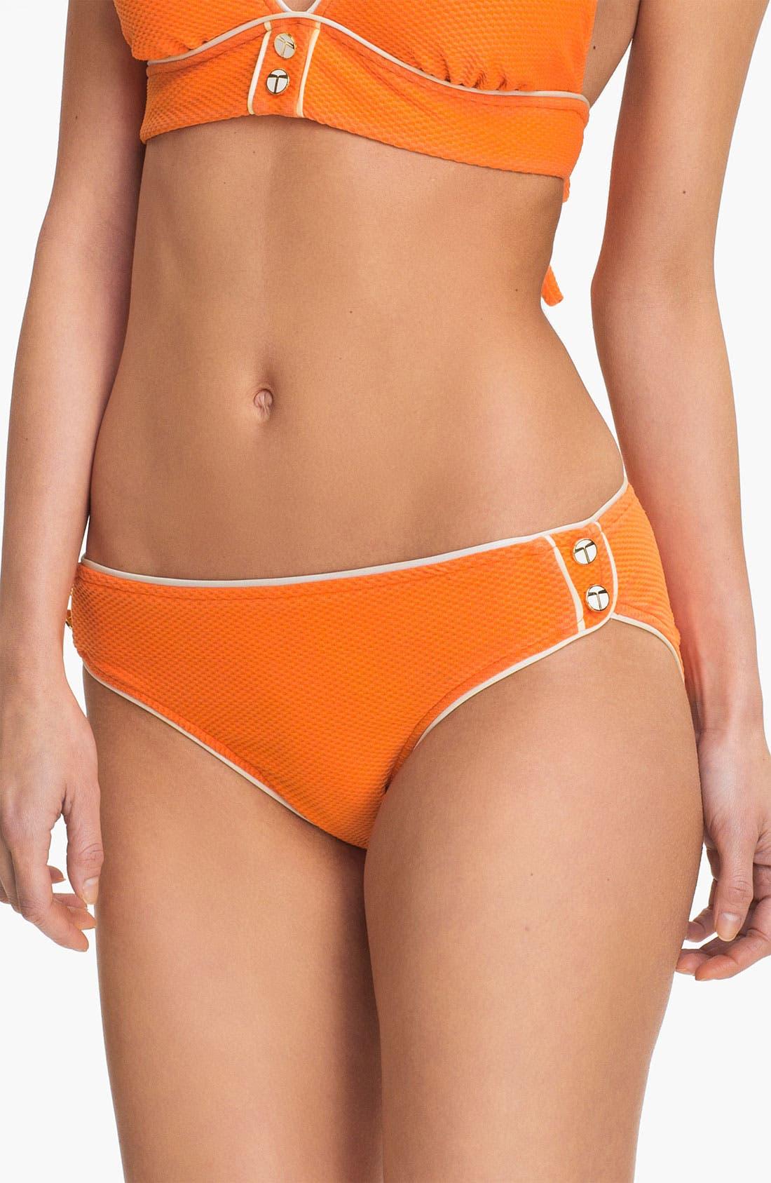 Main Image - Trina Turk Mid-Rise Bikini Bottoms