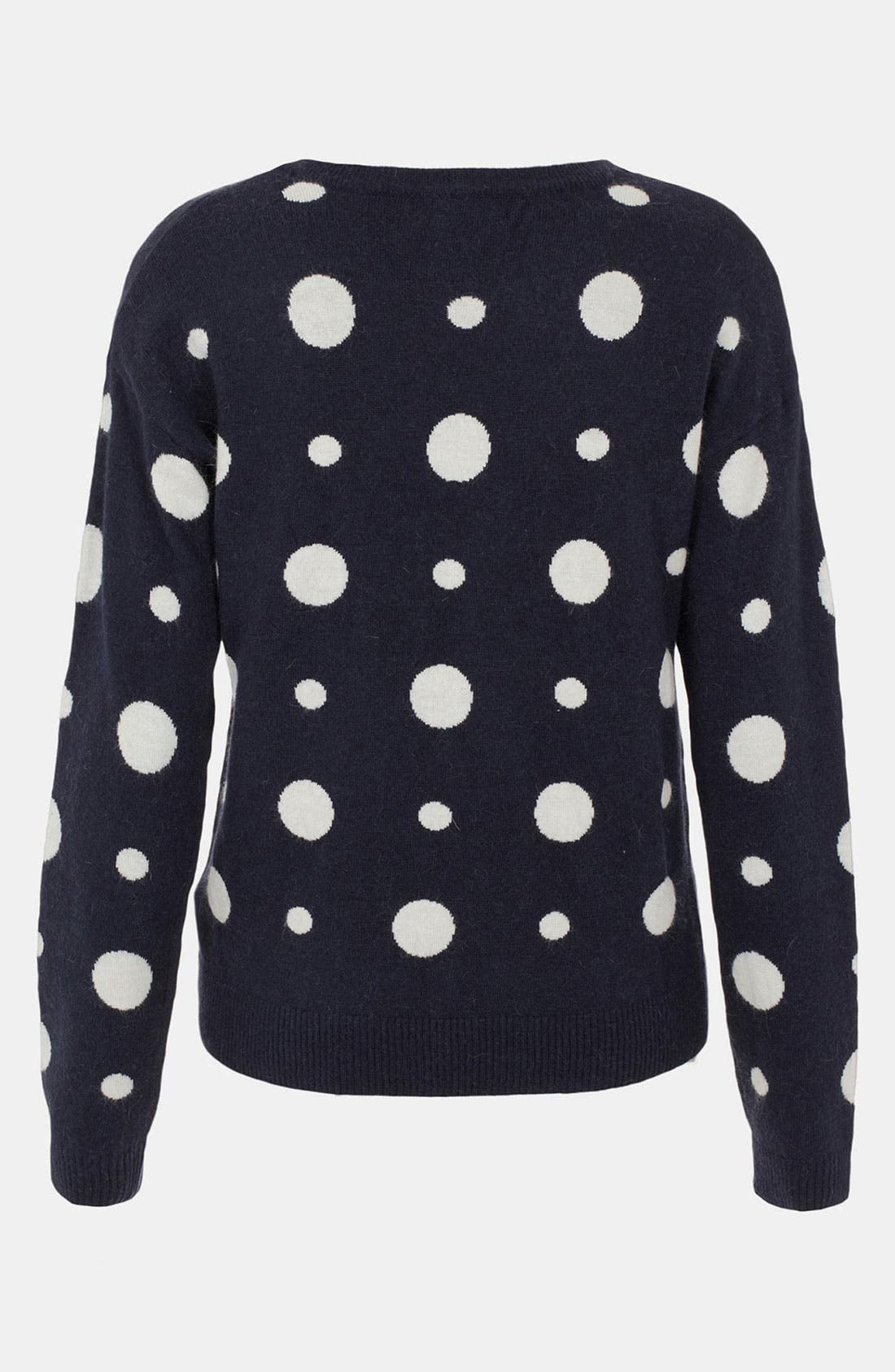 Alternate Image 2  - Topshop Dot Maternity Sweater