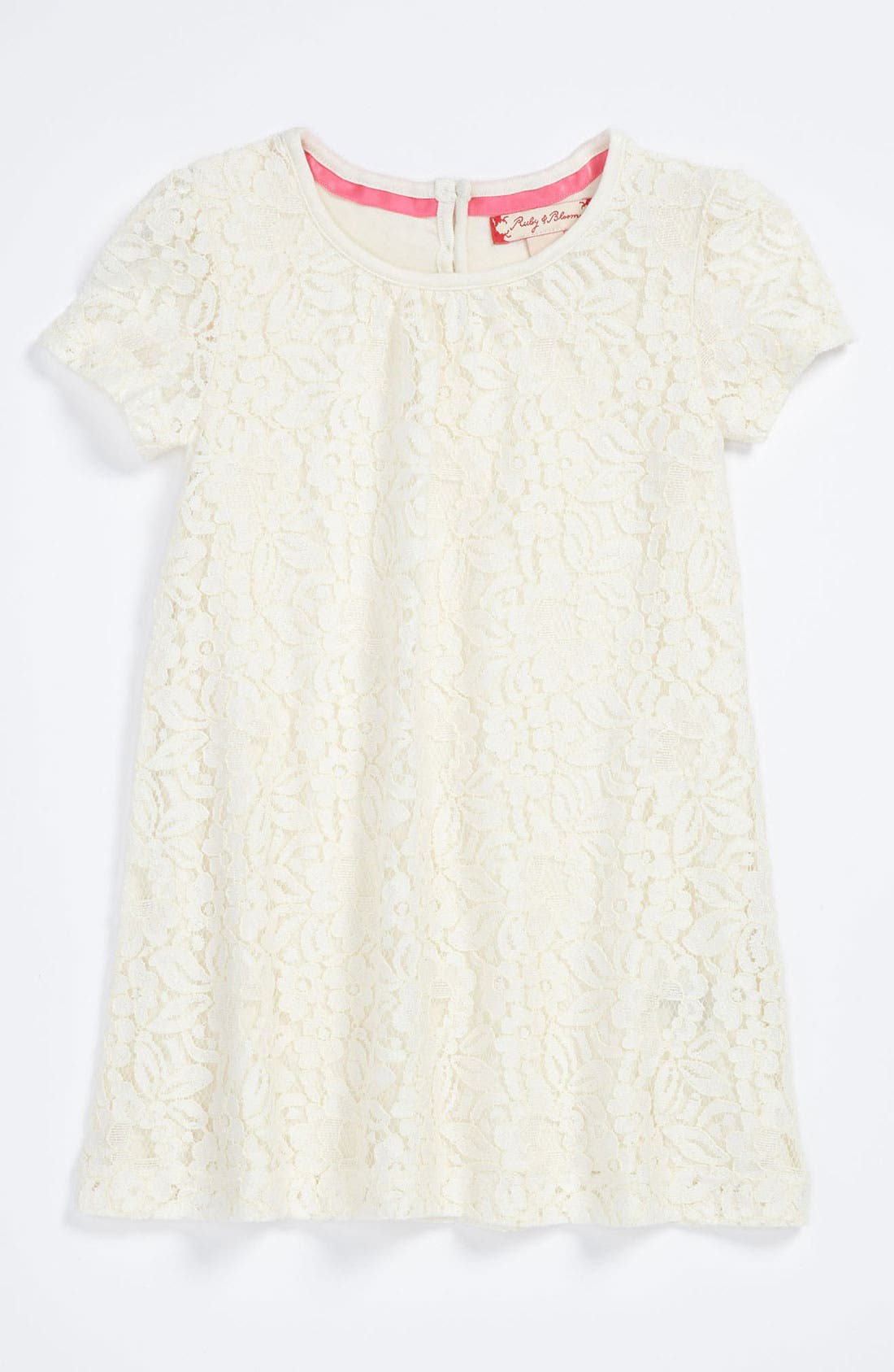 Alternate Image 1 Selected - Ruby & Bloom 'Paulina' Lace Dress (Baby Girls)