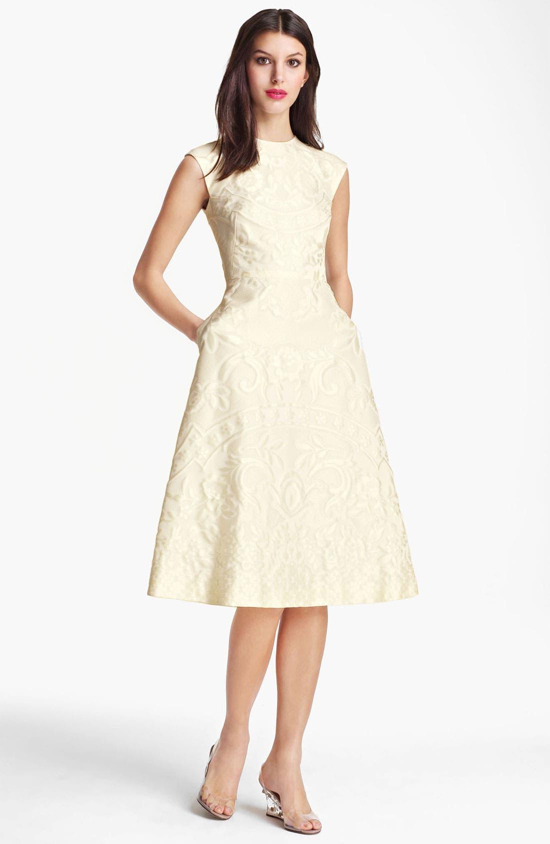 Alternate Image 1 Selected - Valentino Matelassé Dress