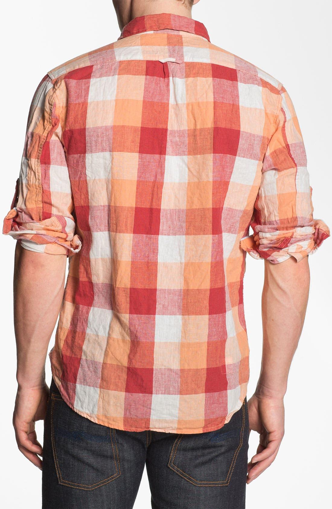 Alternate Image 2  - Scotch & Soda Regular Fit Linen Sport Shirt