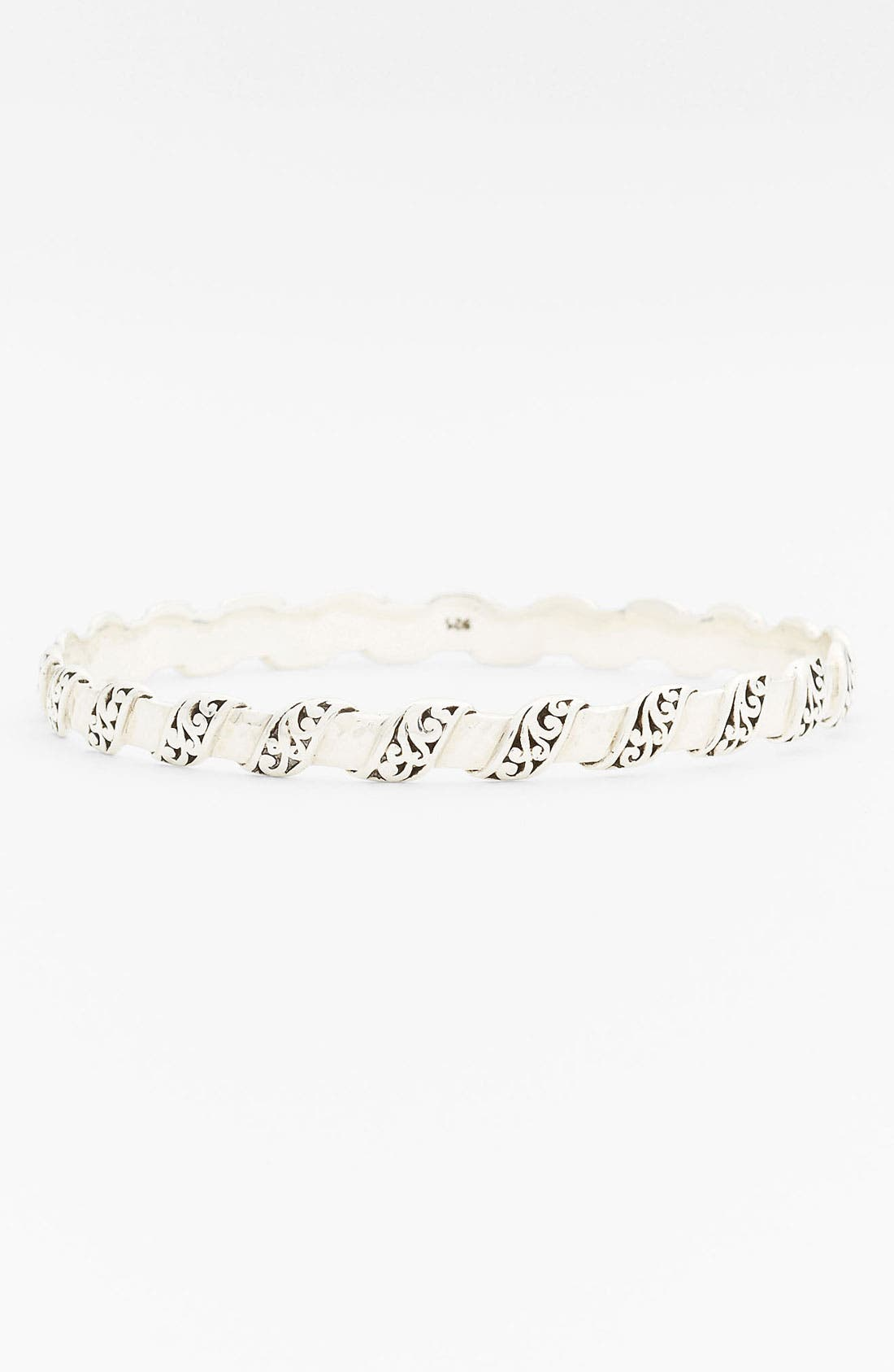 Main Image - Lois Hill 'Classy Cutout Waves' Small Bangle