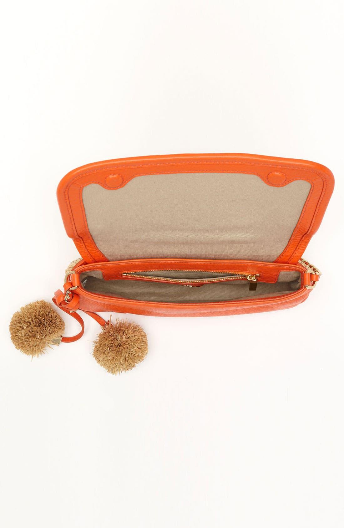 Alternate Image 3  - Tory Burch 'Thea - Mini' Straw Crossbody Bag, Small
