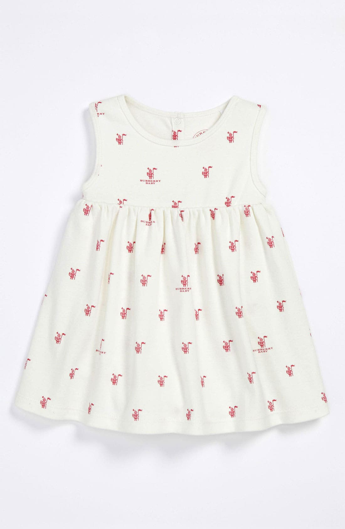 Main Image - Burberry 'Angelina' Dress (Baby)