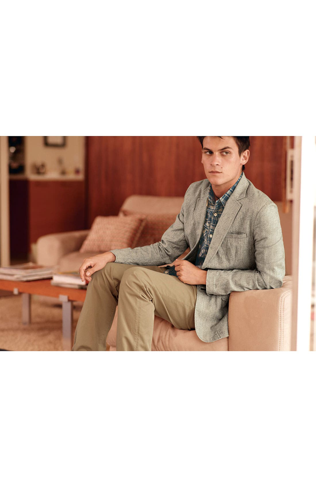 Alternate Image 4  - rag & bone 'RB7' Slim Fit Cotton Pants
