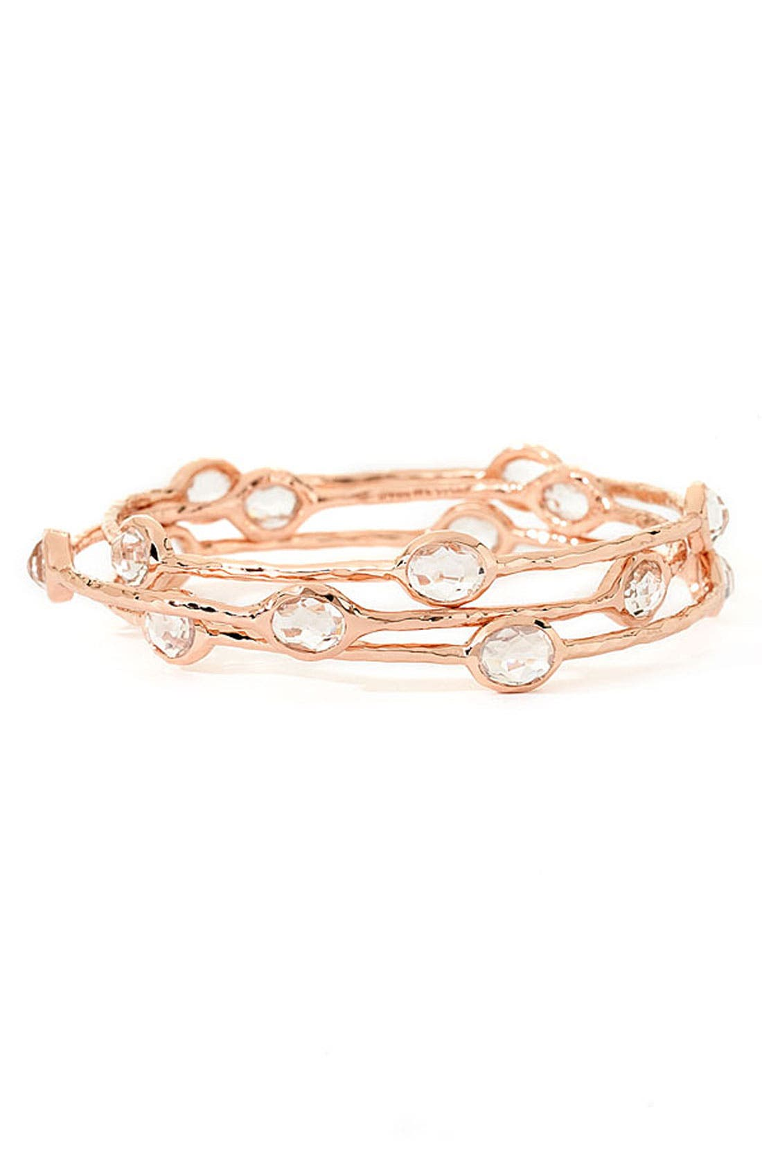 Alternate Image 2  - Ippolita 'Rock Candy' Rosé Station Bangle (Online Only)
