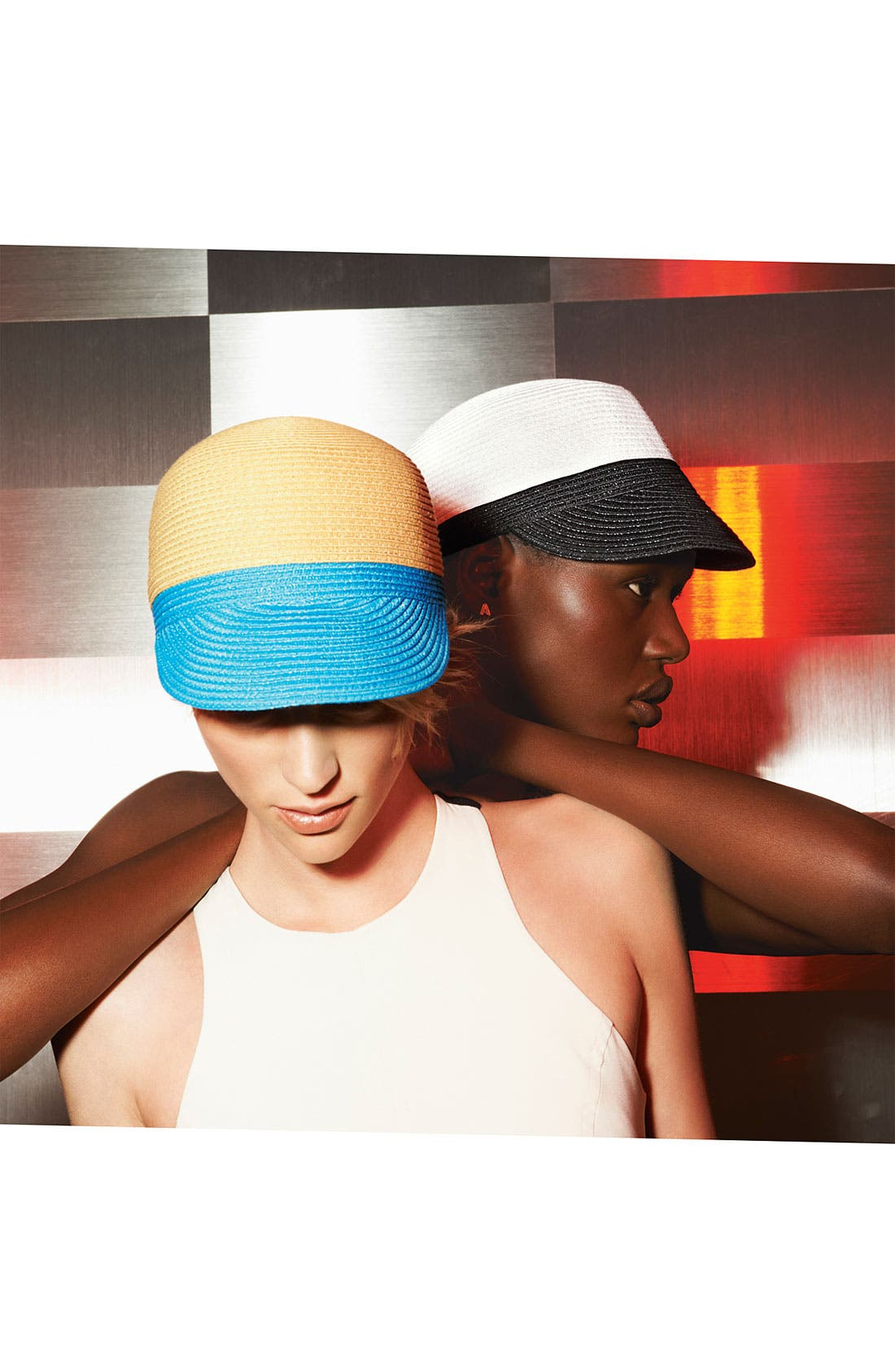 Alternate Image 2  - Collection XIIX Colorblocked Woven Cap