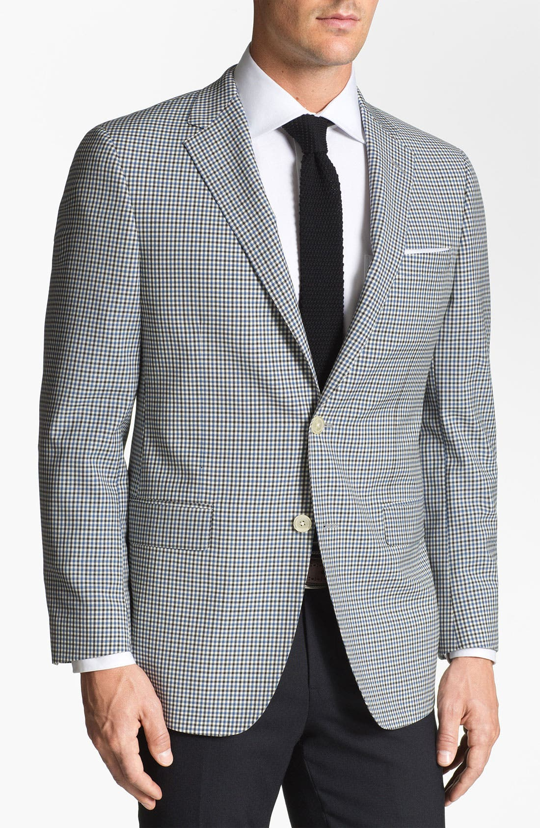 Alternate Image 1 Selected - Samuelsohn Check Sportcoat
