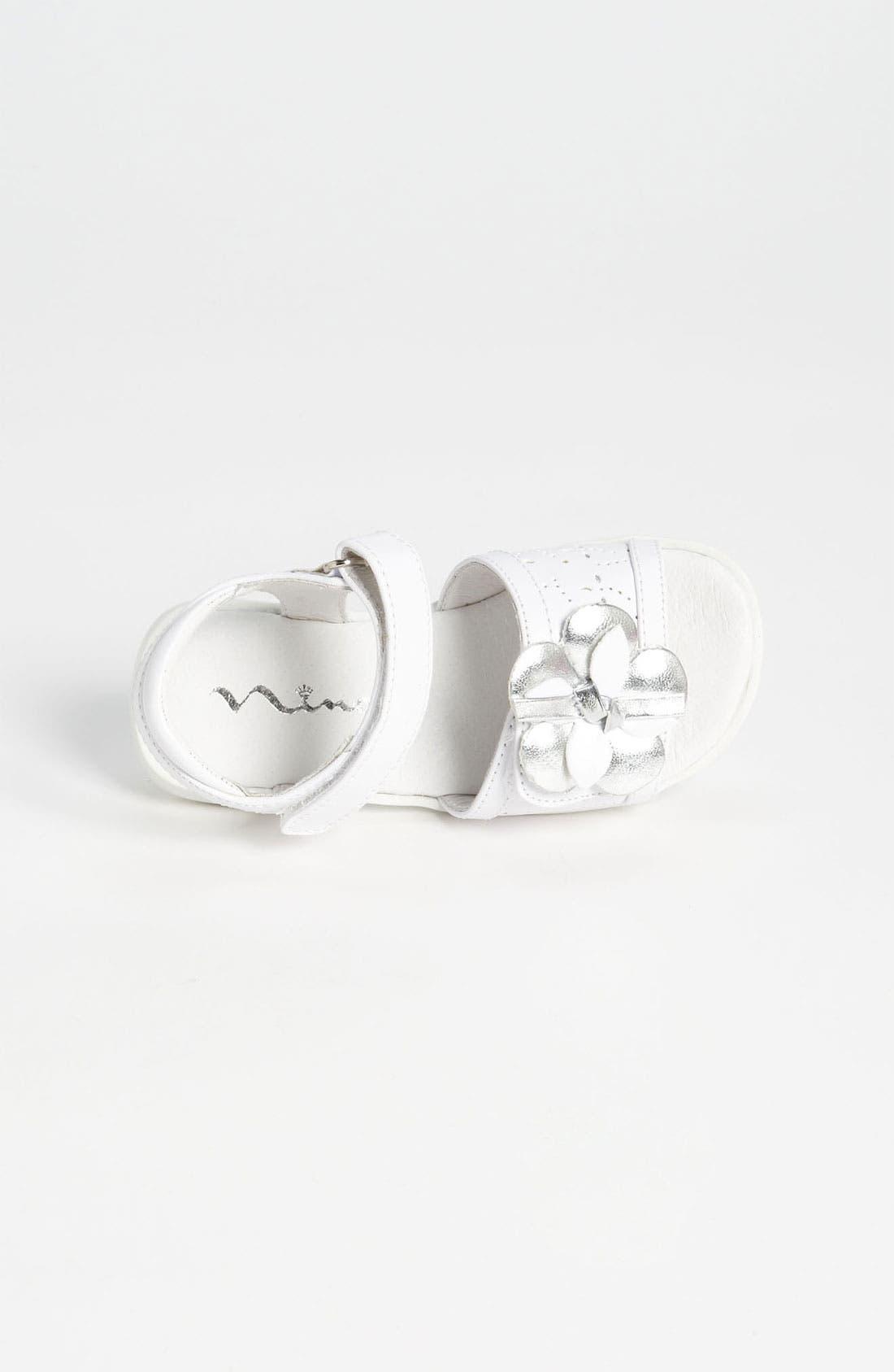 Alternate Image 3  - Nina 'Constance' Flower Sandal (Walker & Toddler)