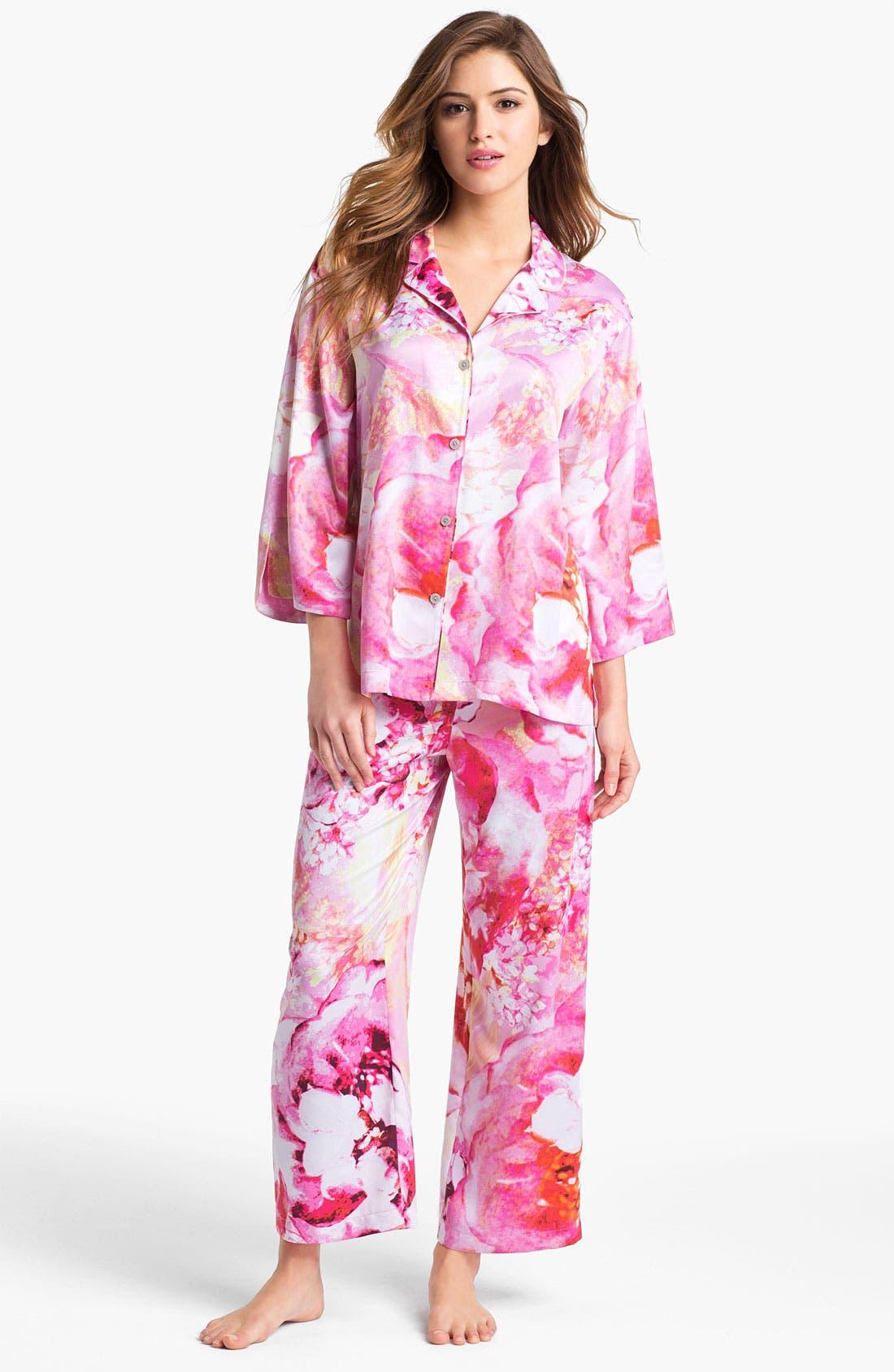 Alternate Image 1 Selected - Natori 'Bellarocca' Pajamas