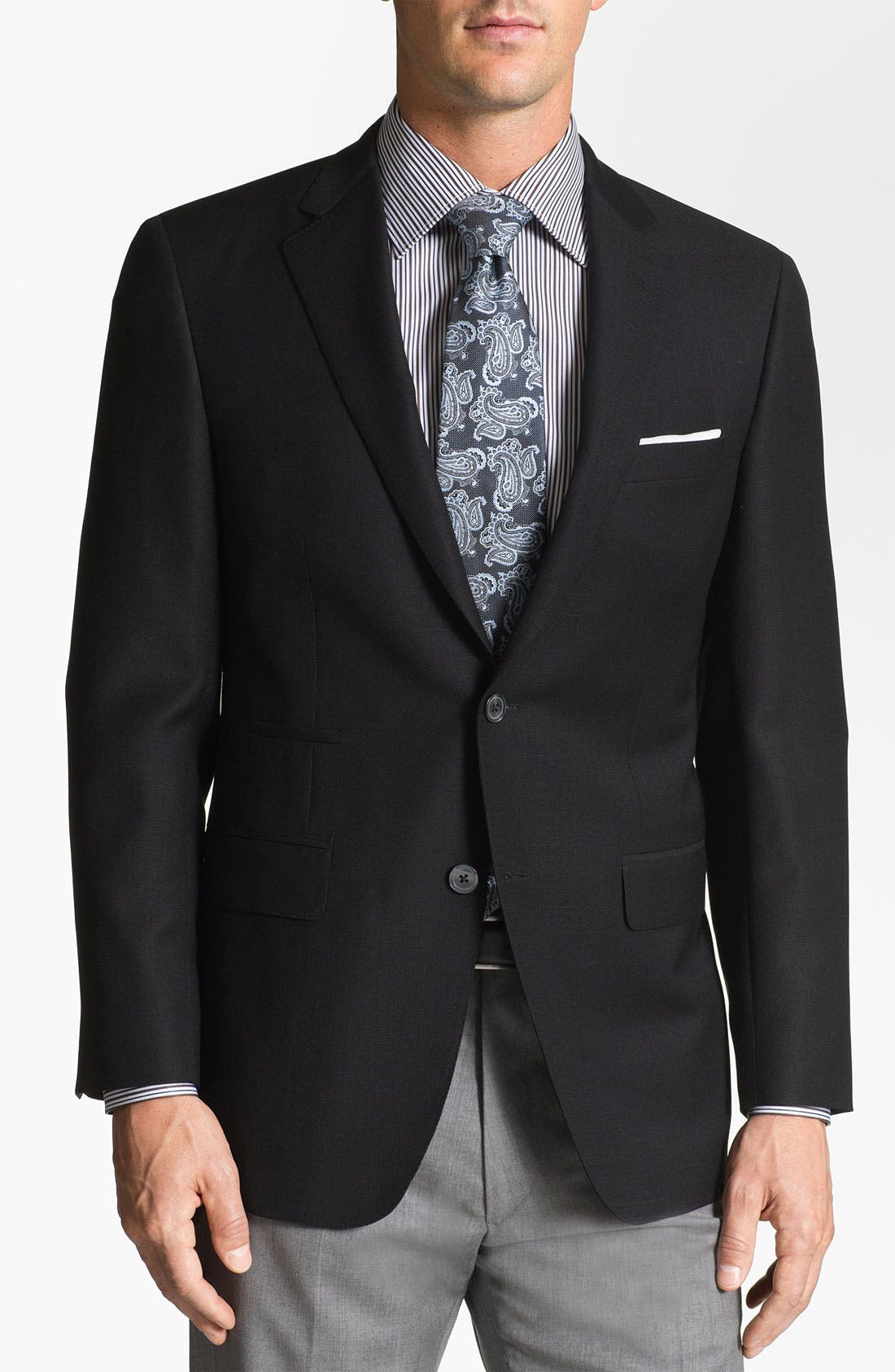 Alternate Image 1 Selected - Samuelsohn 'Travel' Wool Blazer