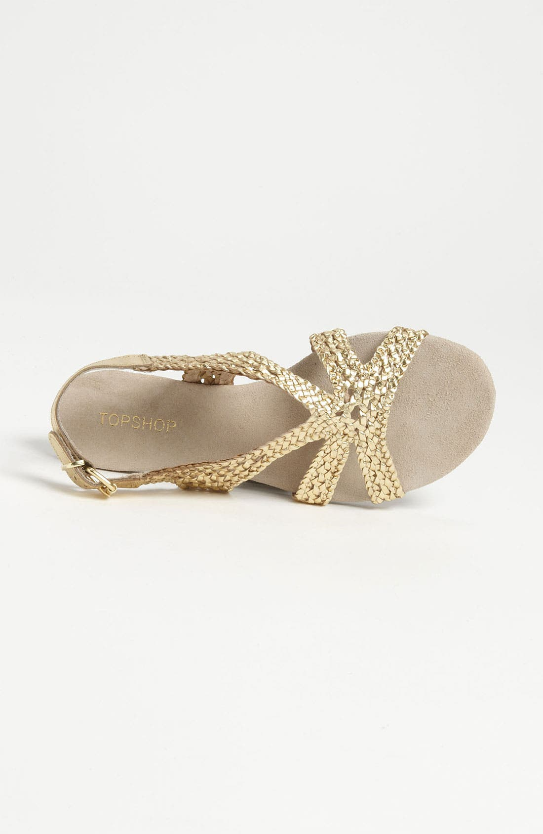 Alternate Image 3  - Topshop 'Hinders' Woven Sandal