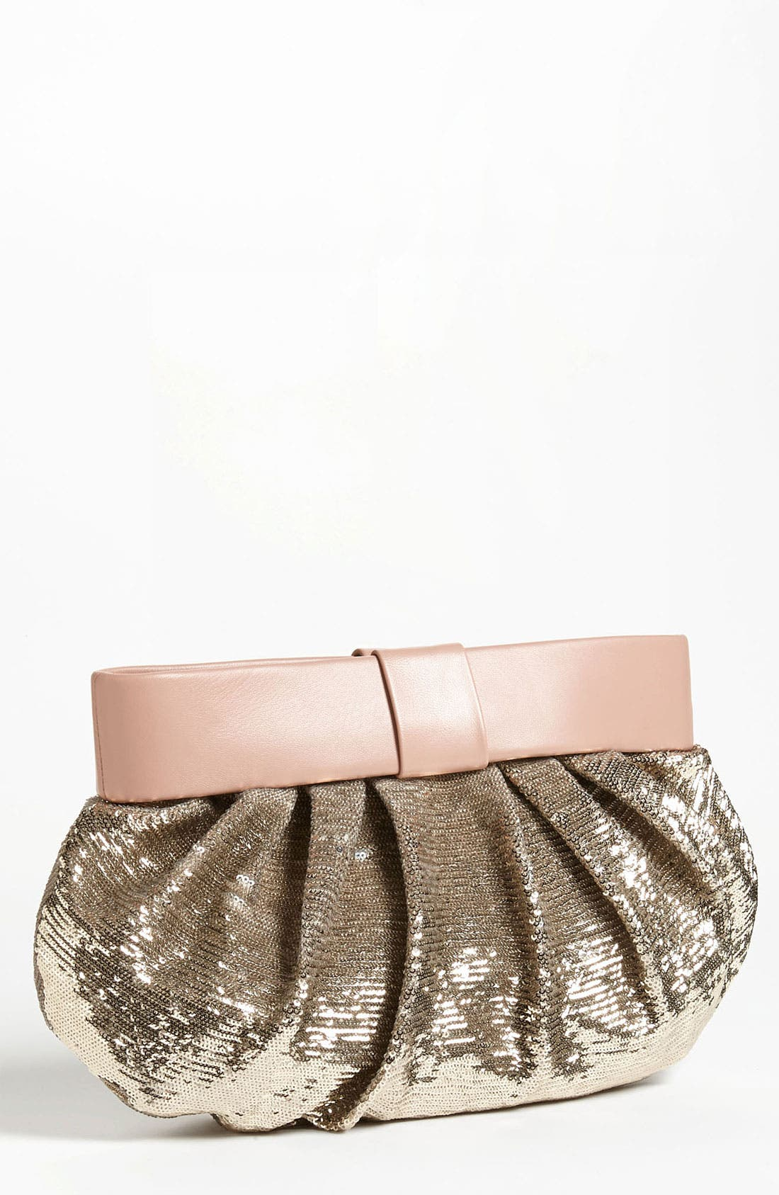 Main Image - RED Valentino 'Bow' Sequin Clutch