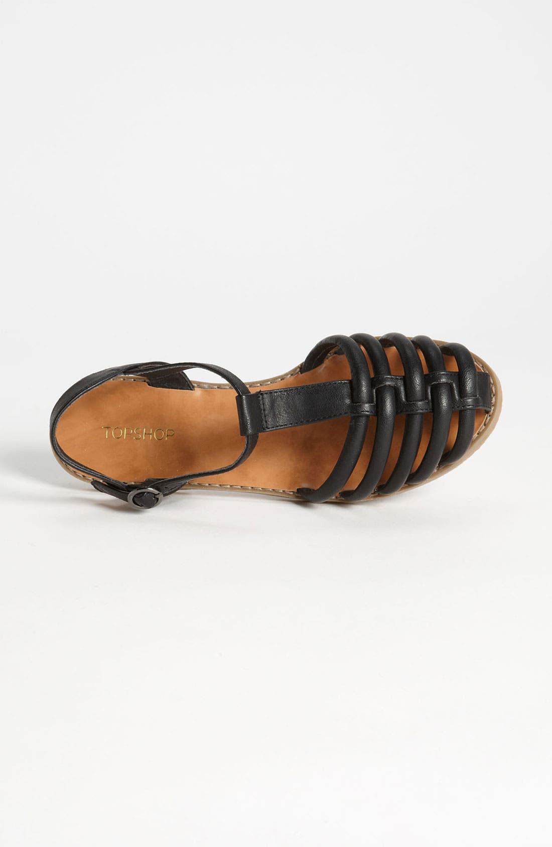 Alternate Image 3  - Topshop 'Hampi' Caged Toe Fisherman Sandal