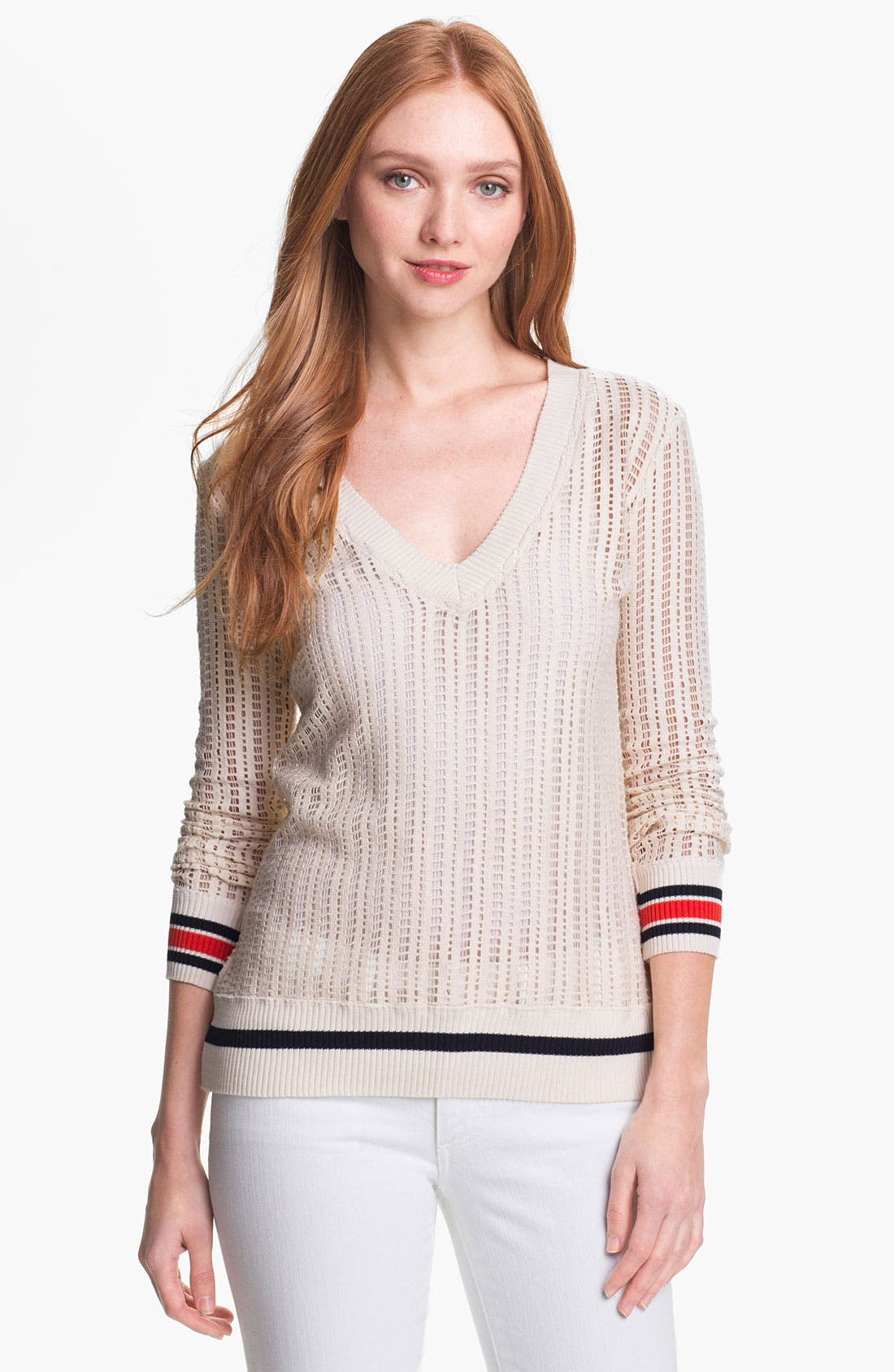 Main Image - Tory Burch 'Ozzy' Open Sweater