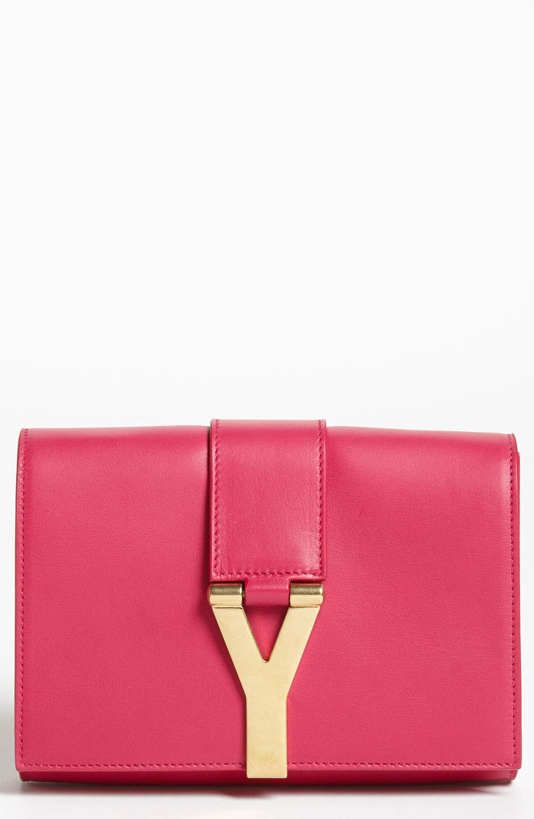 Alternate Image 1 Selected - Saint Laurent 'Y Chain - Mini' Leather Handbag