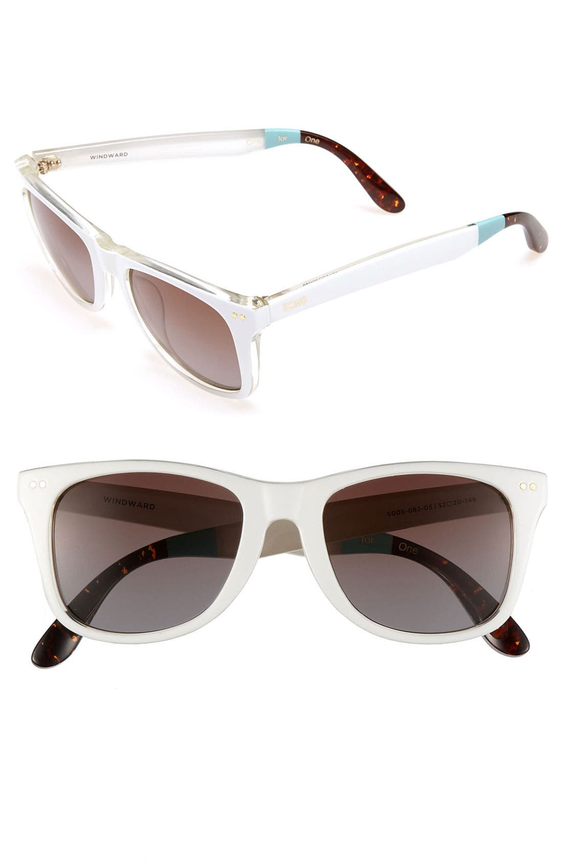 Alternate Image 1 Selected - TOMS 'Windward' 52mm Sunglasses