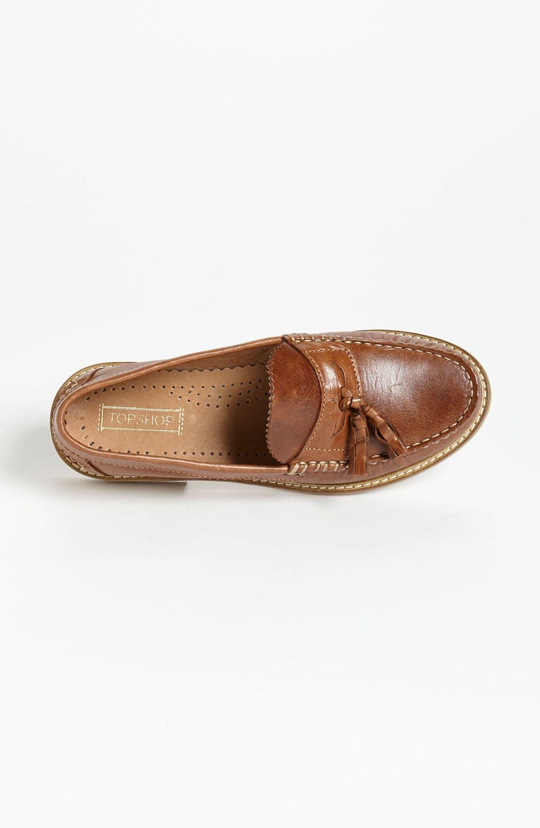 Alternate Image 3  - Topshop 'Keith' Tassel Loafer