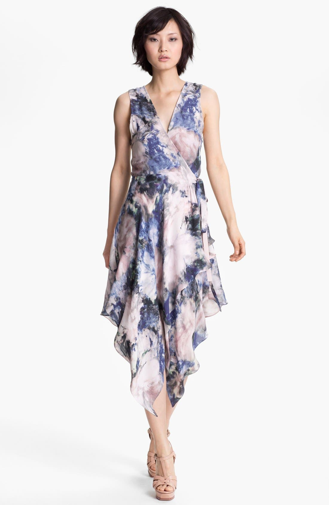 Alternate Image 1 Selected - Haute Hippie Floral Print Wrap Dress