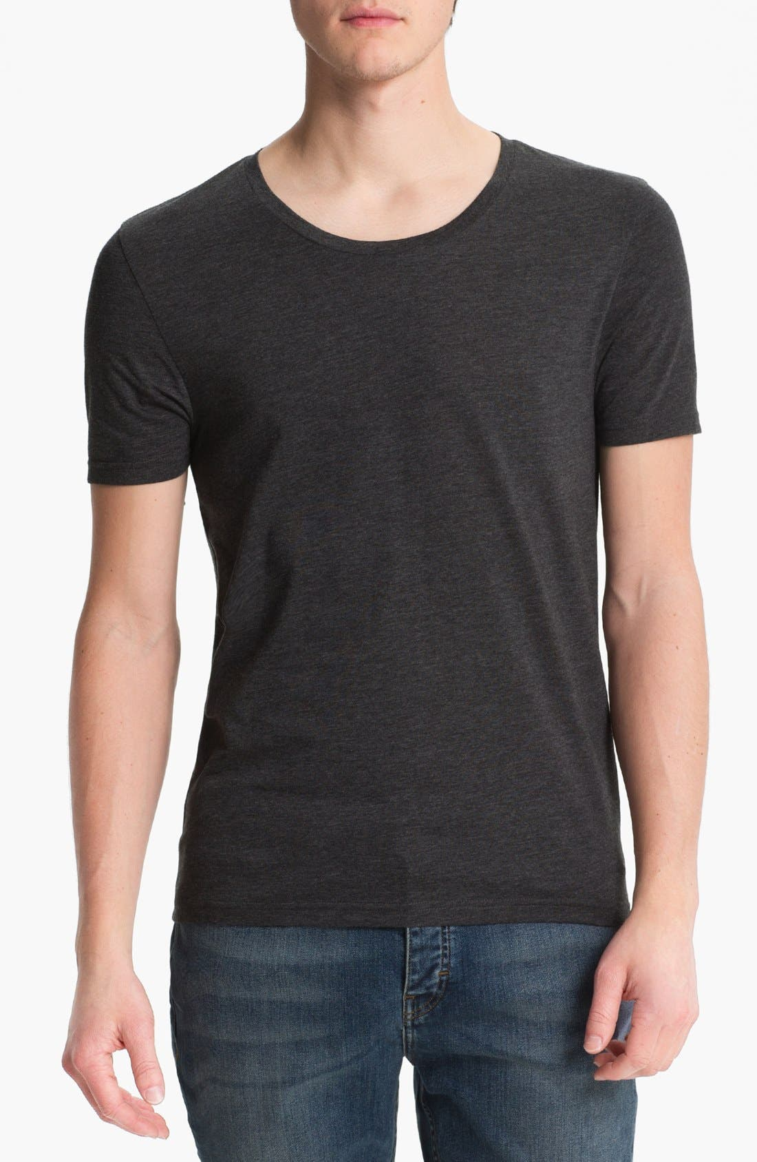 Alternate Image 1 Selected - Topman Scoop Neck T-Shirt