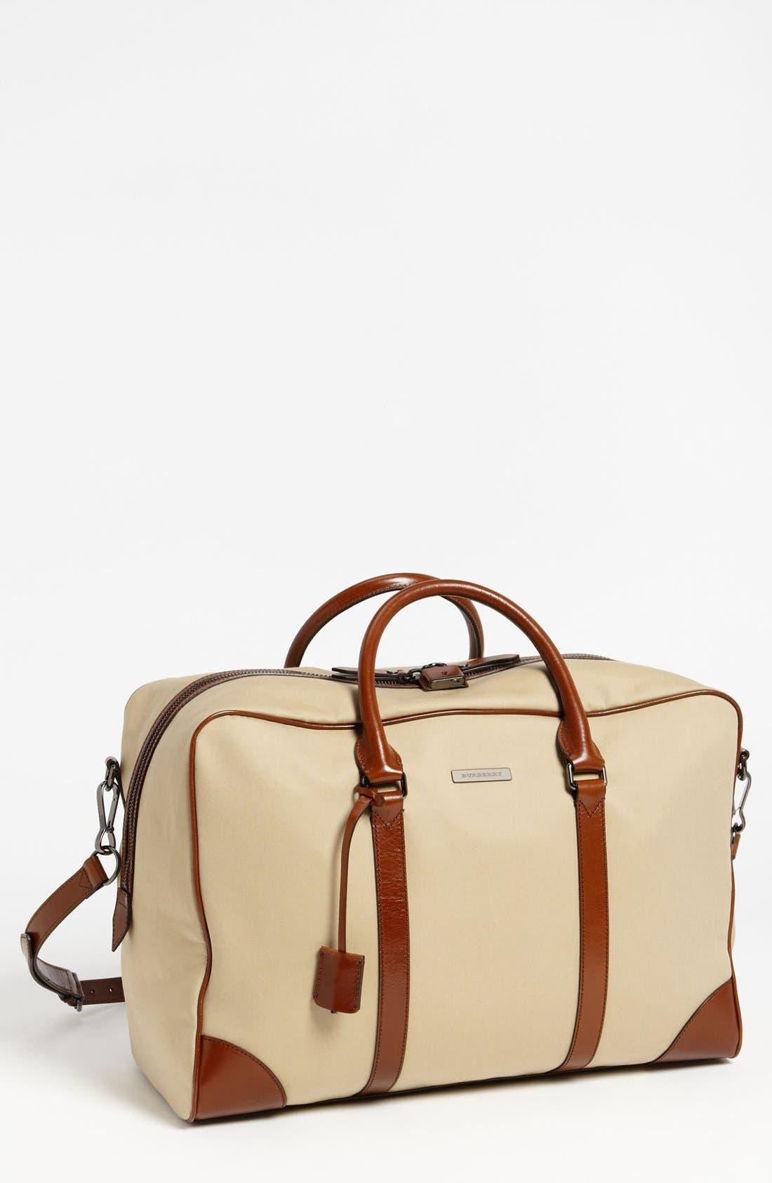 Main Image - Burberry 'Barwood' Duffel Bag