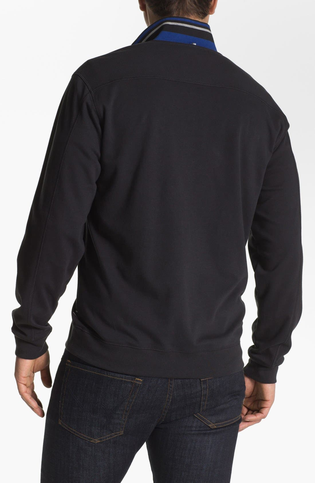 Alternate Image 2  - Tommy Bahama Half Zip Sweater