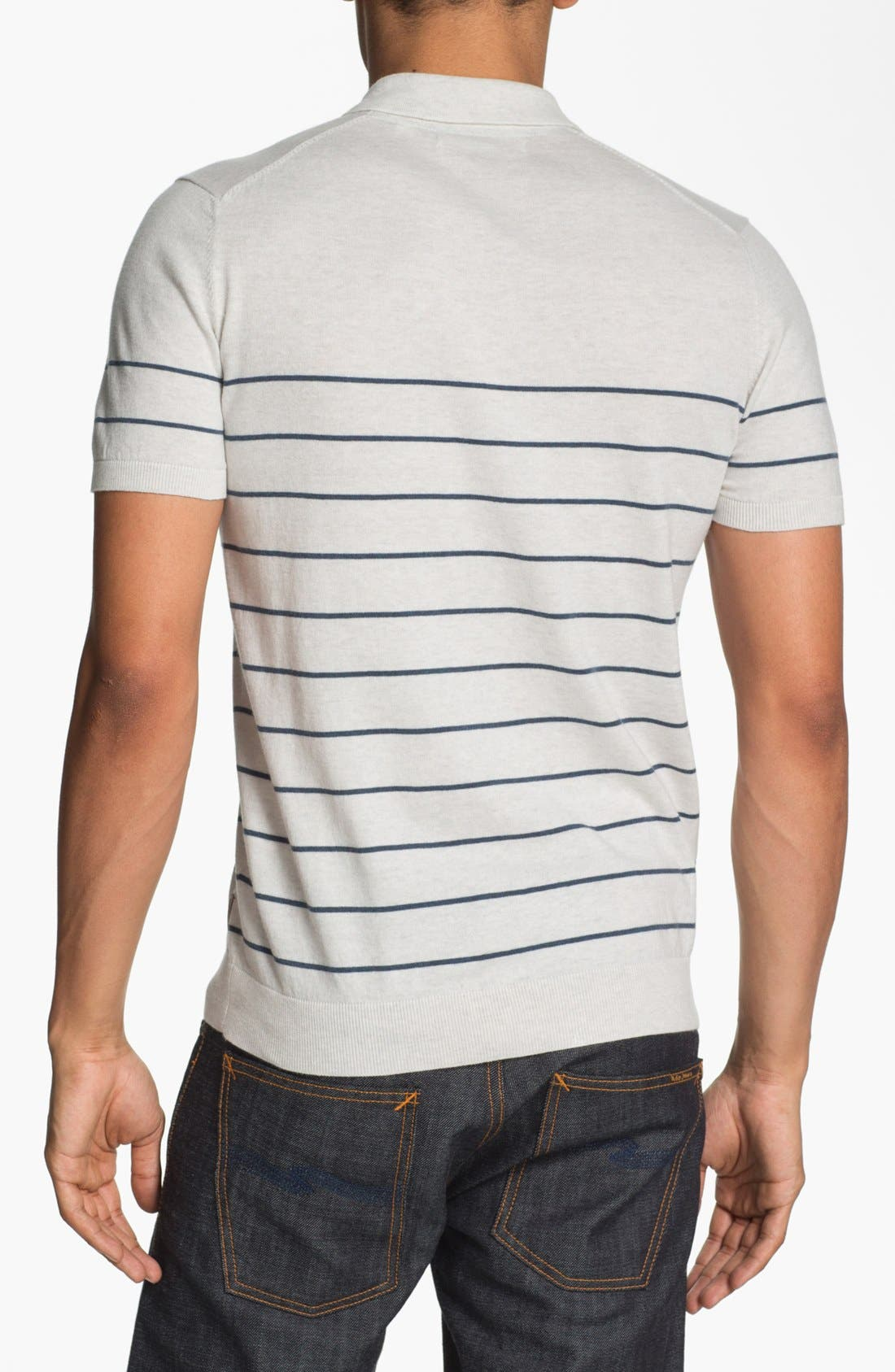 Alternate Image 2  - Ben Sherman Stripe Polo