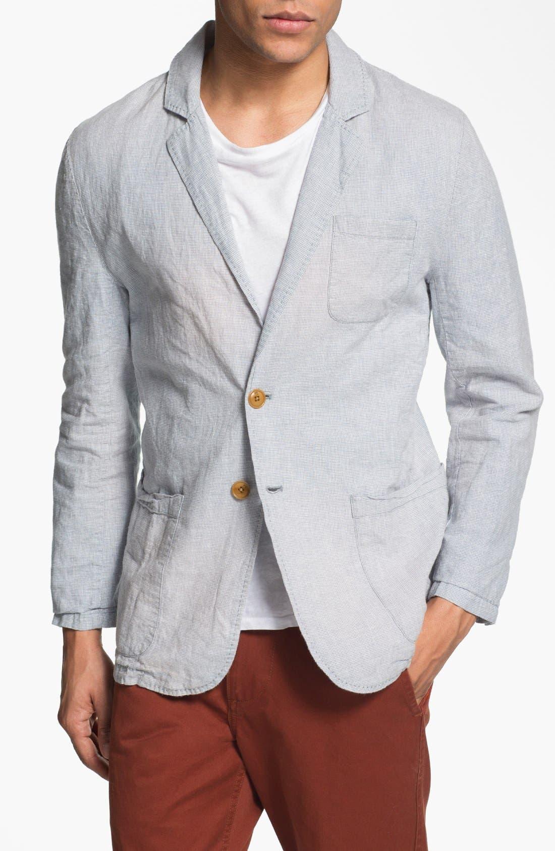 Alternate Image 1 Selected - Scotch & Soda Cotton & Linen Blazer