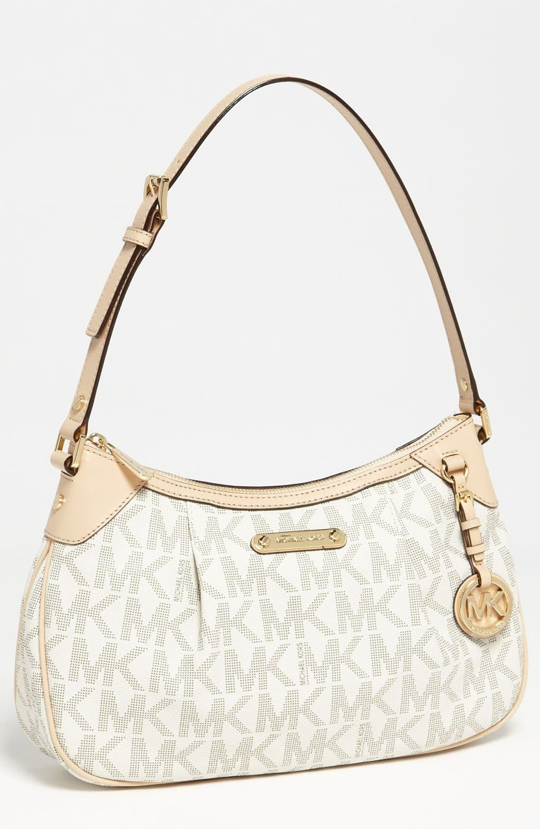 Main Image - MICHAEL Michael Kors 'Jet Set Signature - Medium' Shoulder Bag