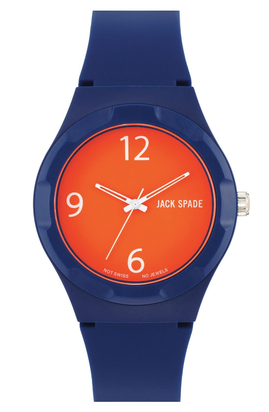 Alternate Image 1 Selected - Jack Spade 'Graphic - Solid' Watch, 40mm