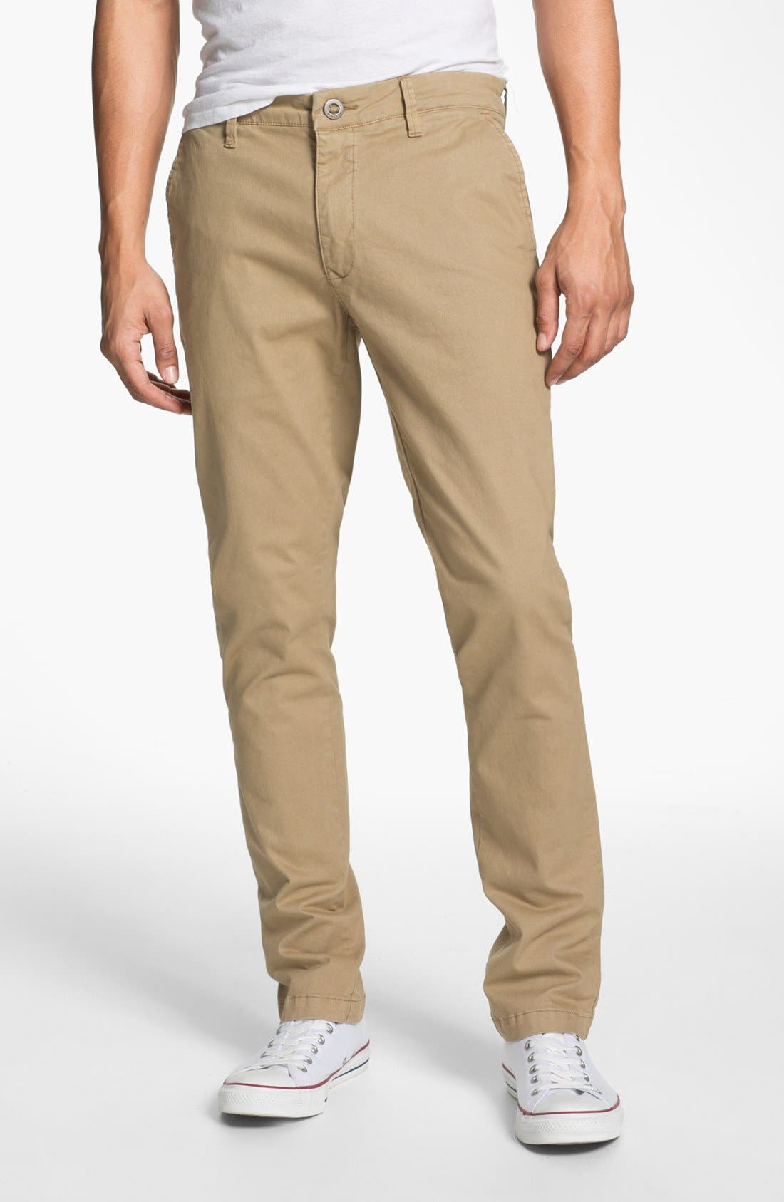 Alternate Image 1 Selected - Volcom 'Darmody' Slim Fit Chinos
