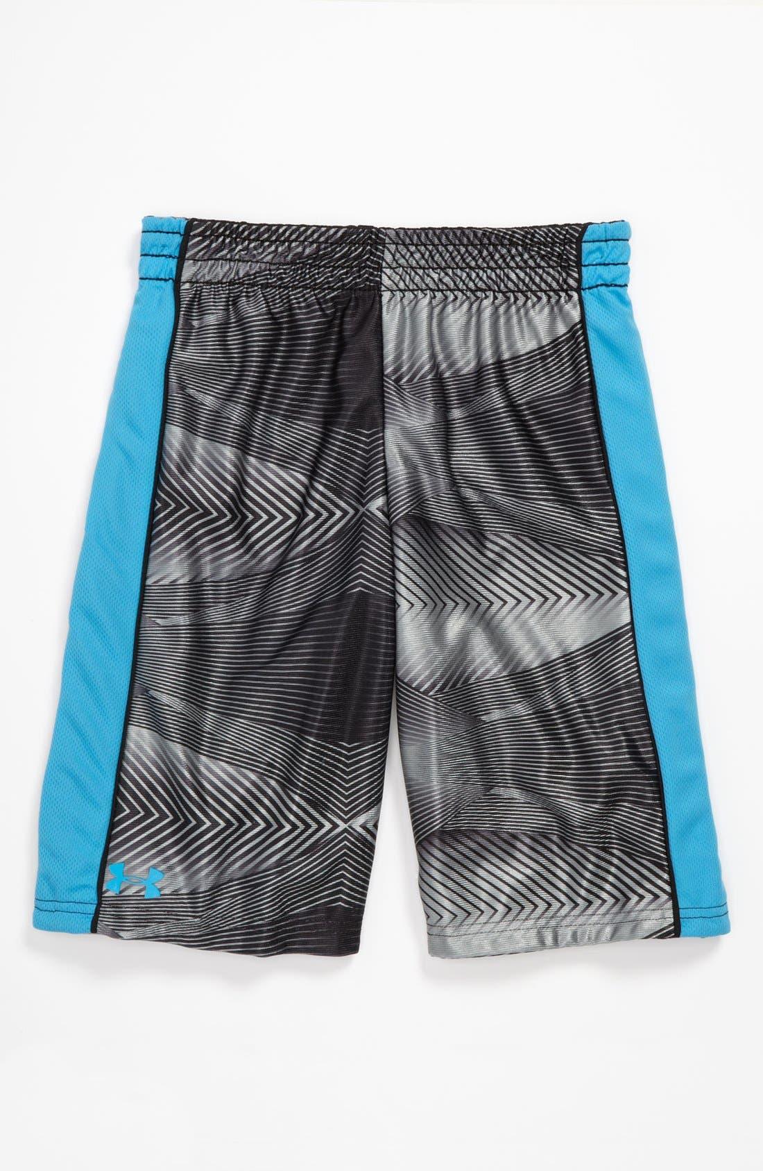Alternate Image 2  - Under Armour Reversible Shorts (Little Boys)