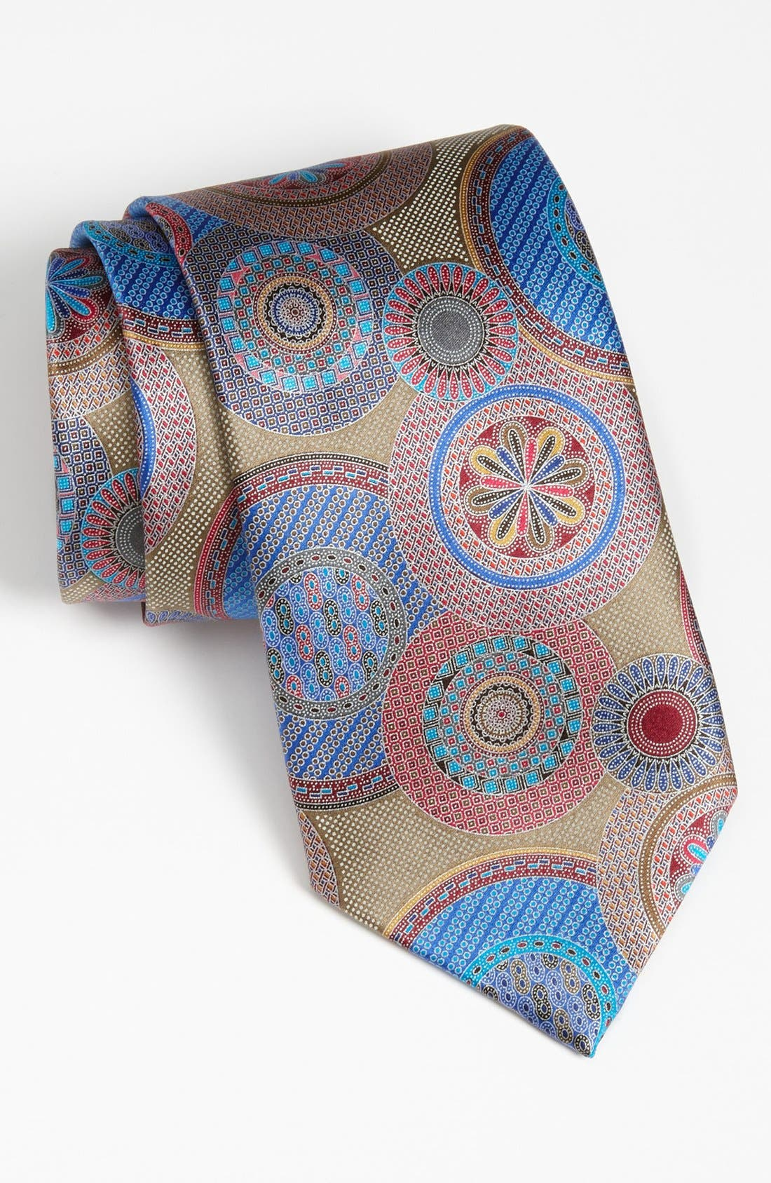 Main Image - Ermenegildo Zegna 'Quindici' Woven Silk Tie