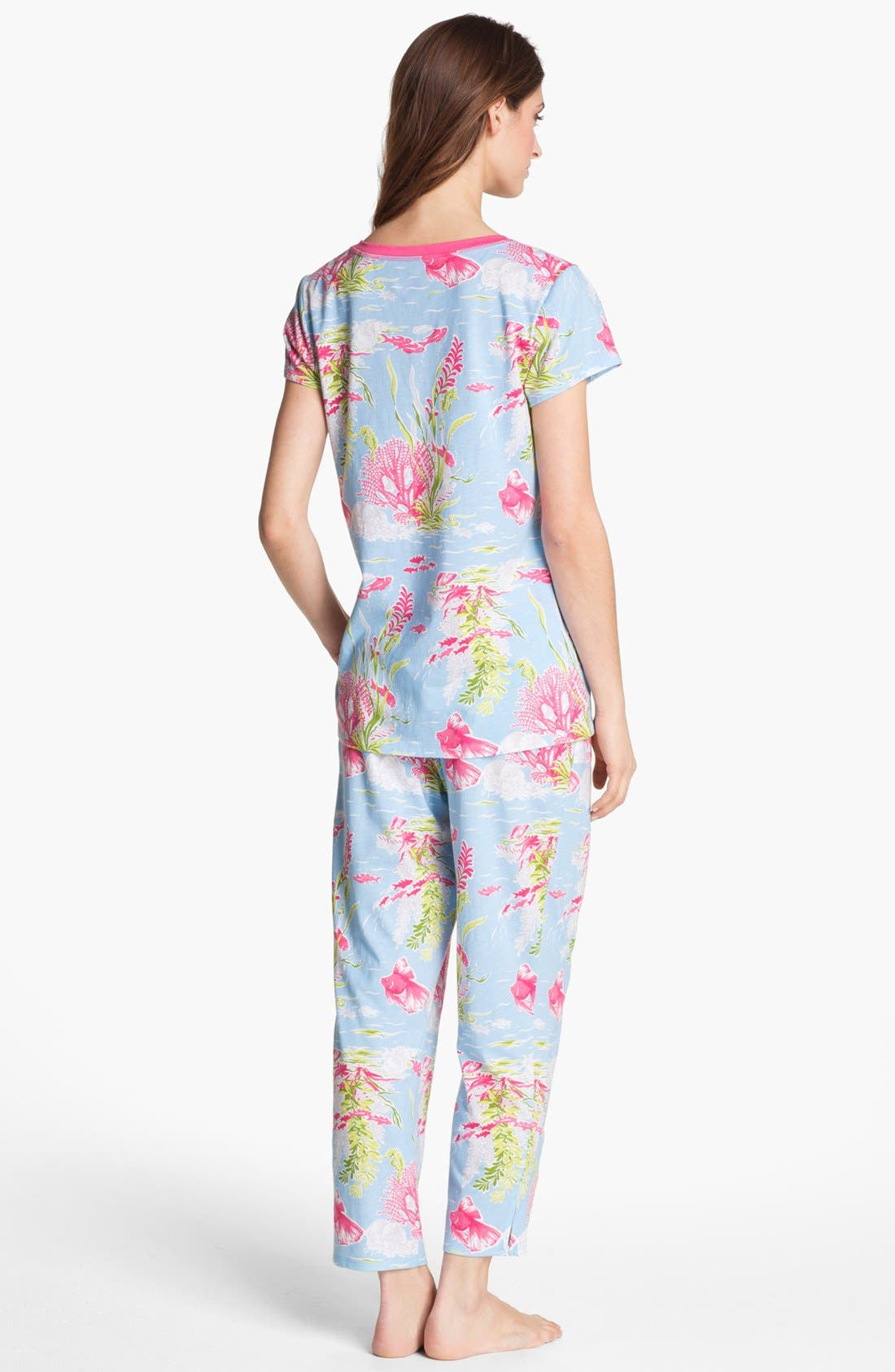 Alternate Image 2  - Carole Hochman Designs Capri Pajamas