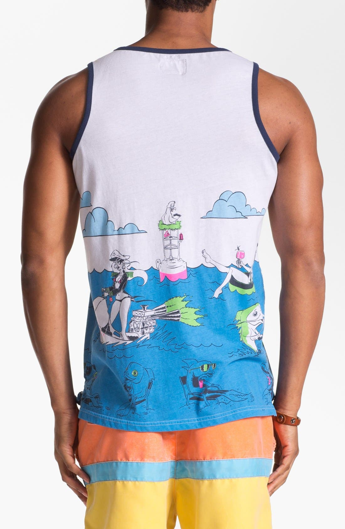 Alternate Image 2  - Quiksilver 'Sinking Teeth' Graphic Tank Top