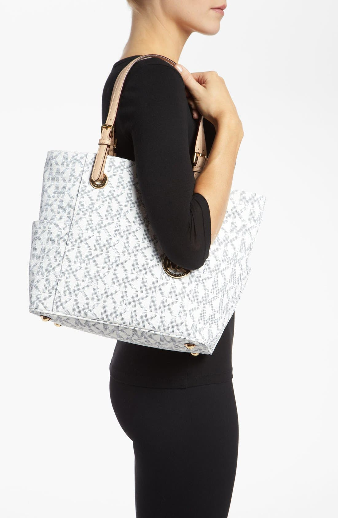 Alternate Image 2  - MICHAEL Michael Kors 'Jet Set Signature' Tote