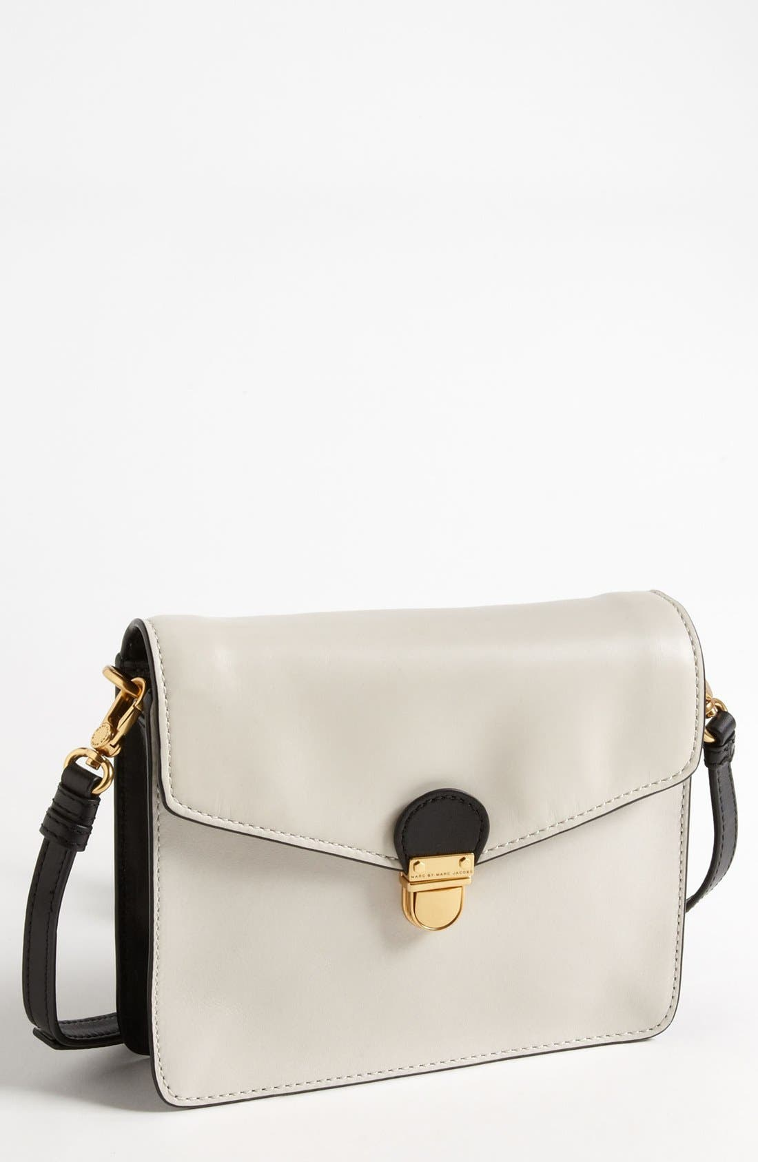 Main Image - MARC BY MARC JACOBS 'Top Chicret' Colorblocked Crossbody Bag