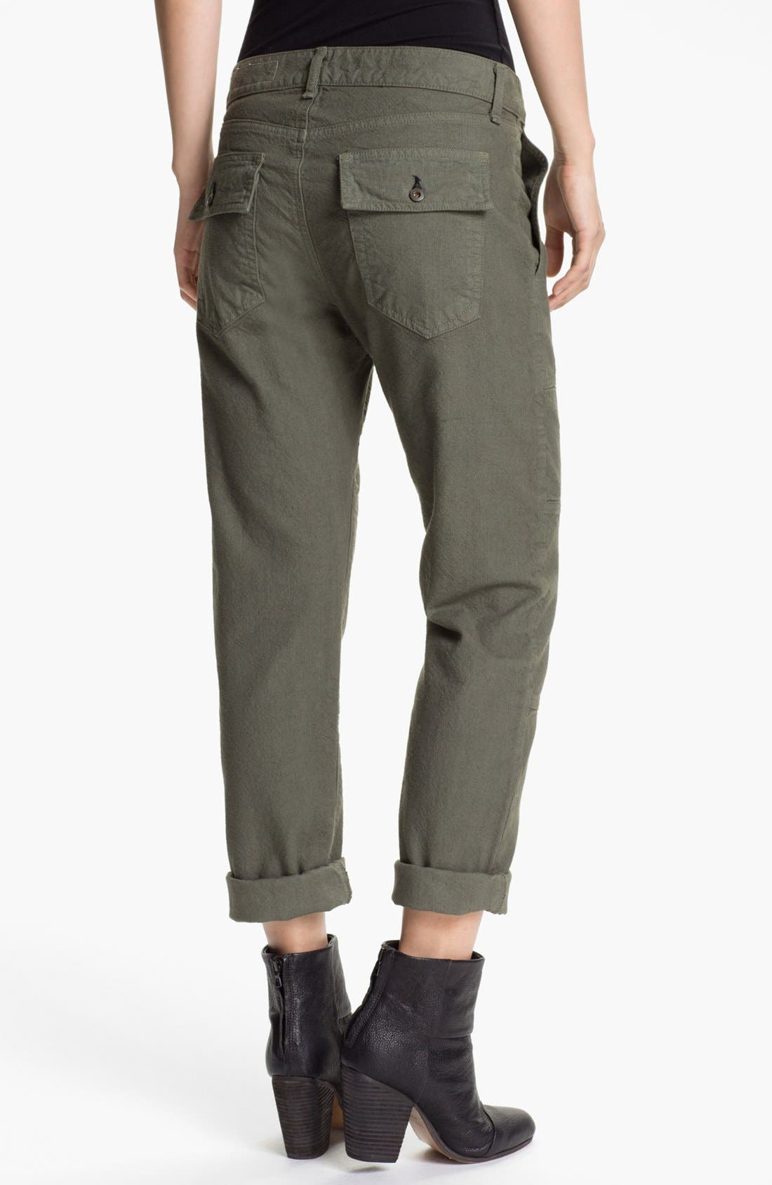 Alternate Image 2  - rag & bone/JEAN 'Brigade' Cargo Twill Pants