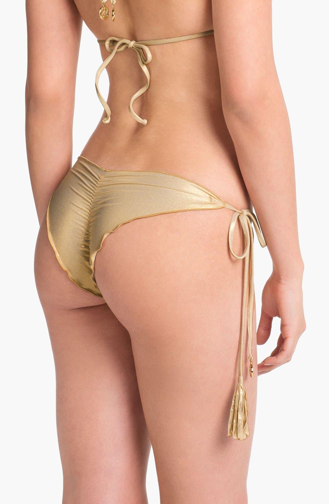 Alternate Image 2  - Luli Fama 'Delicia Wavey' Brazilian Bikini Bottoms