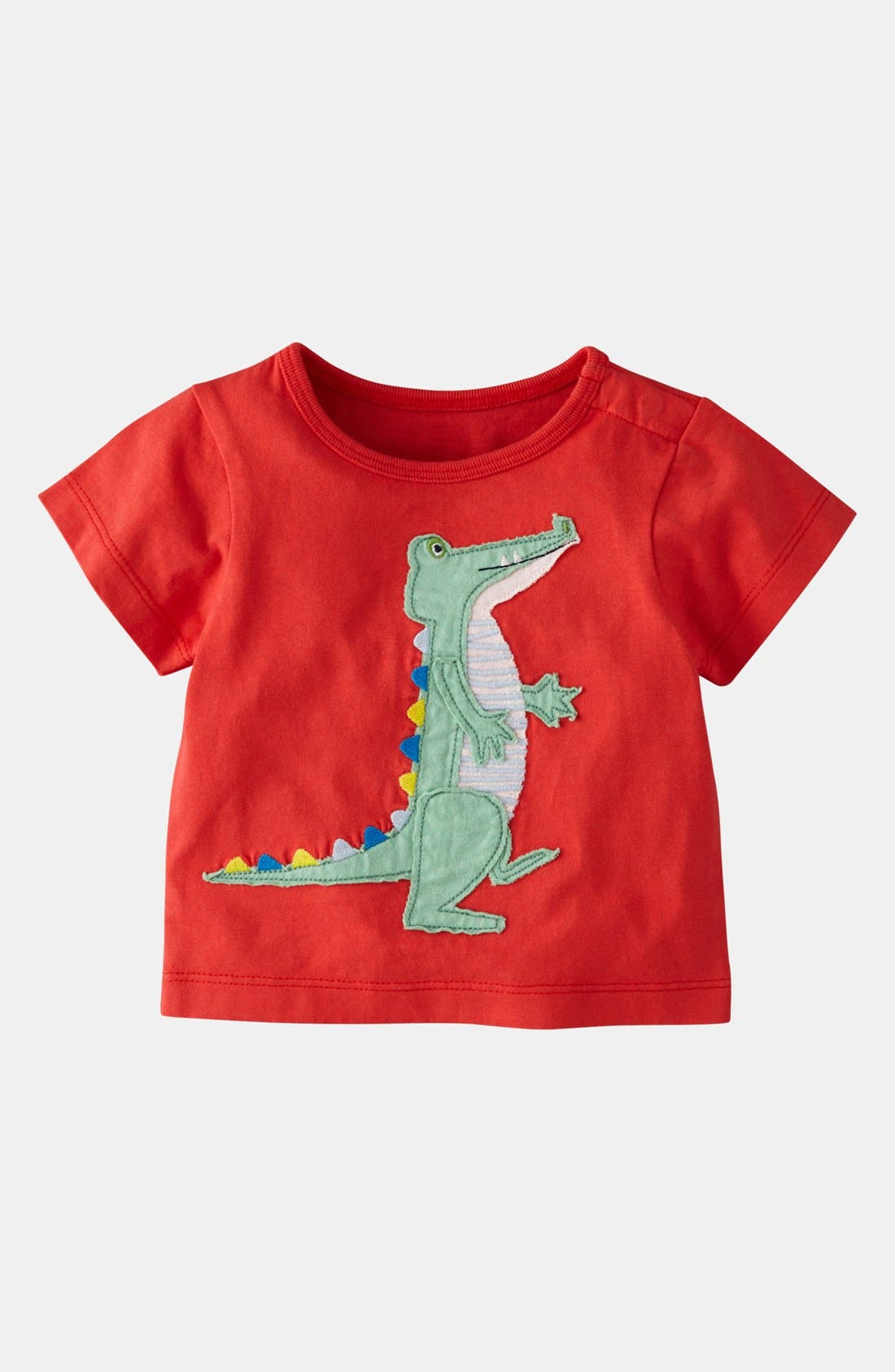 Alternate Image 1 Selected - Mini Boden 'Big Appliqué' T-Shirt (Baby)