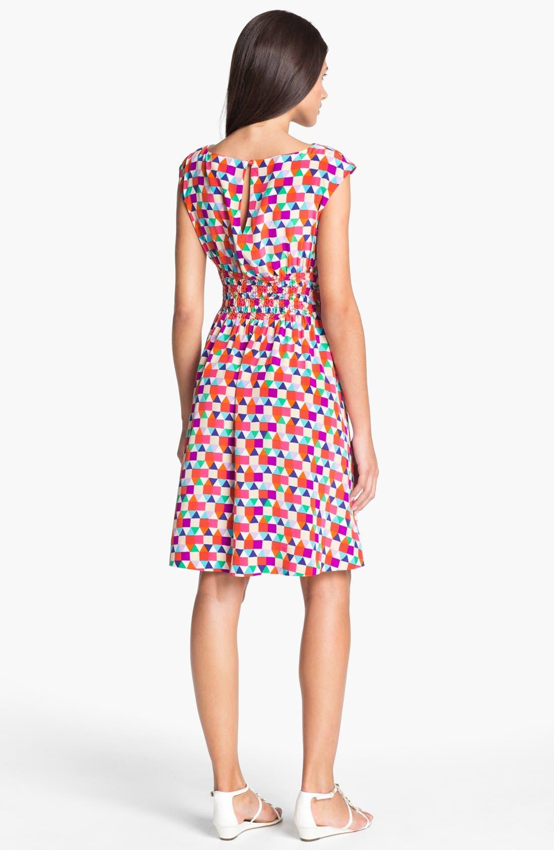 Alternate Image 2  - kate spade new york 'blaire' silk dress