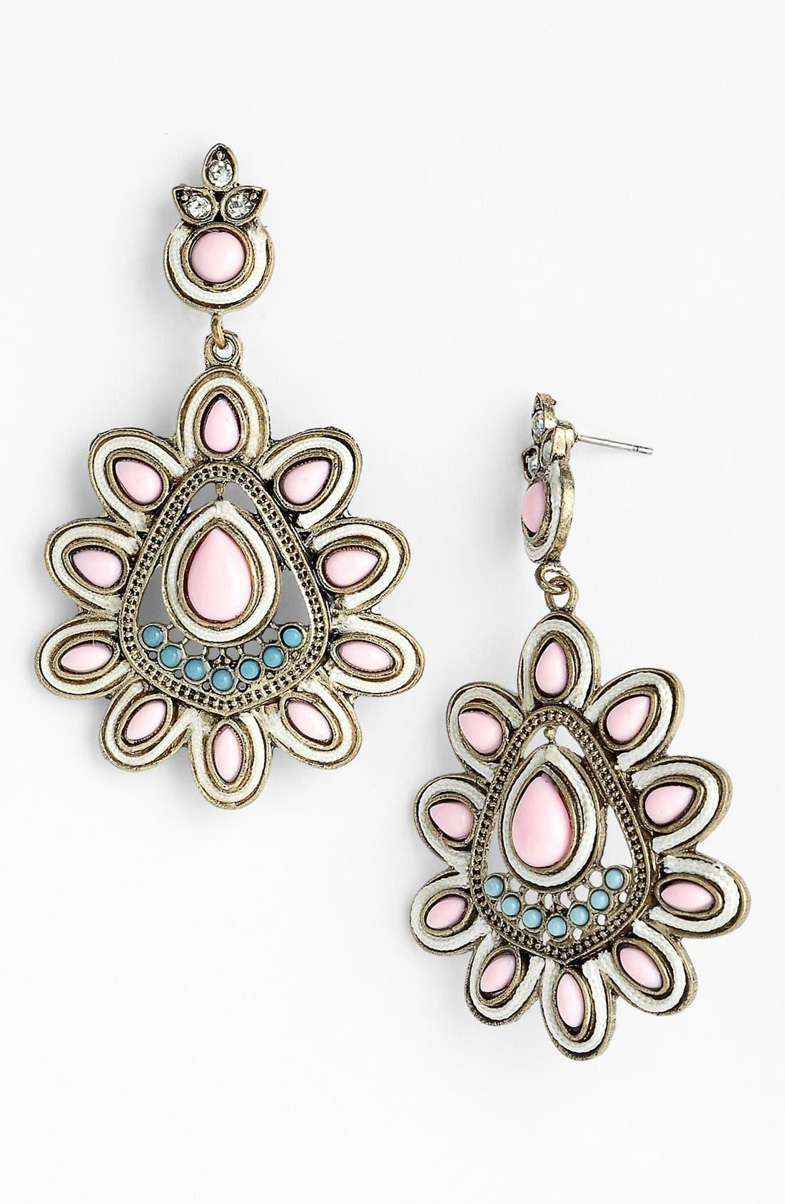 Alternate Image 1 Selected - Guinevere 'Jasper' Drop Earrings